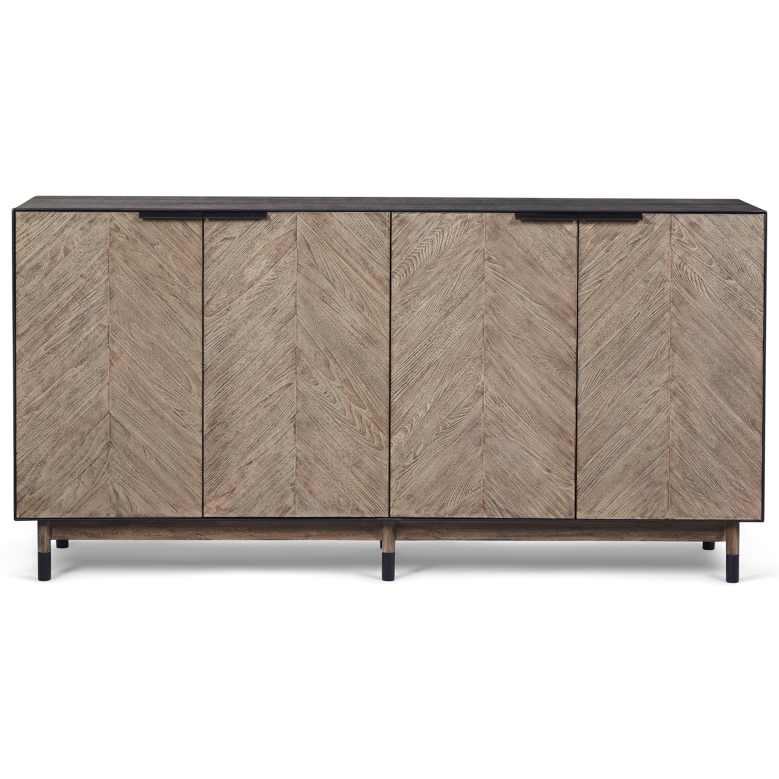 Belfort signature rainey street cedar park sideboard with for Cedar park furniture
