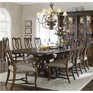 Seven plus piece dining sets nashville franklin and for Dining sets nashville tn