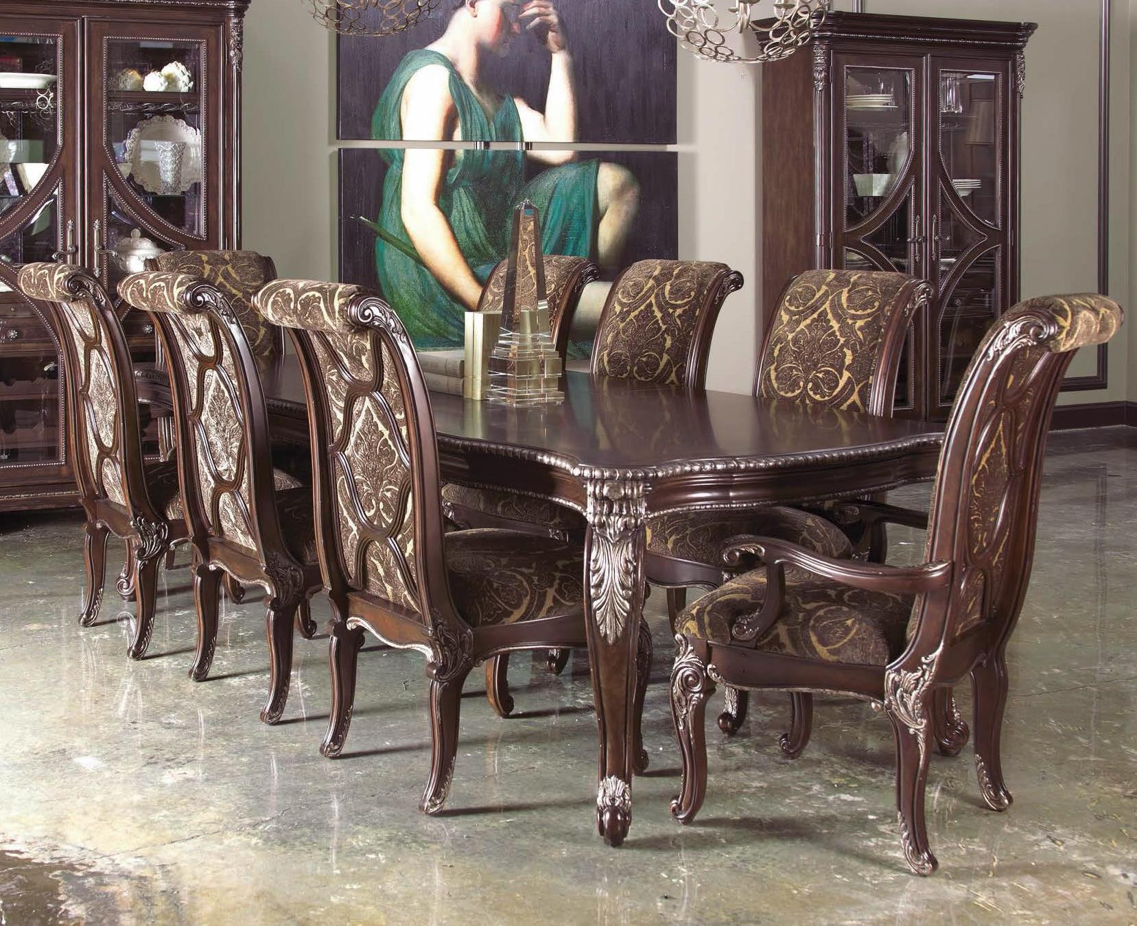 a r t furniture inc gables 9 piece leg dining table set