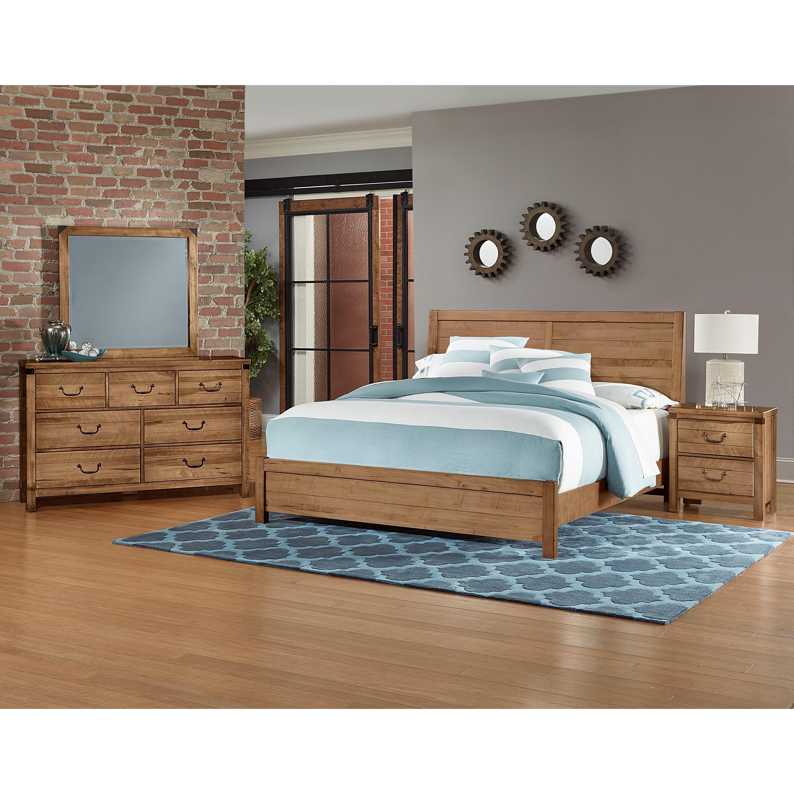 Artisan post sedgwick king bedroom group hudson 39 s for Bedroom groups