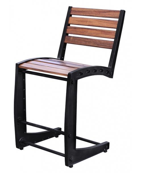 International Furniture Direct Parota 24 Inch Iron