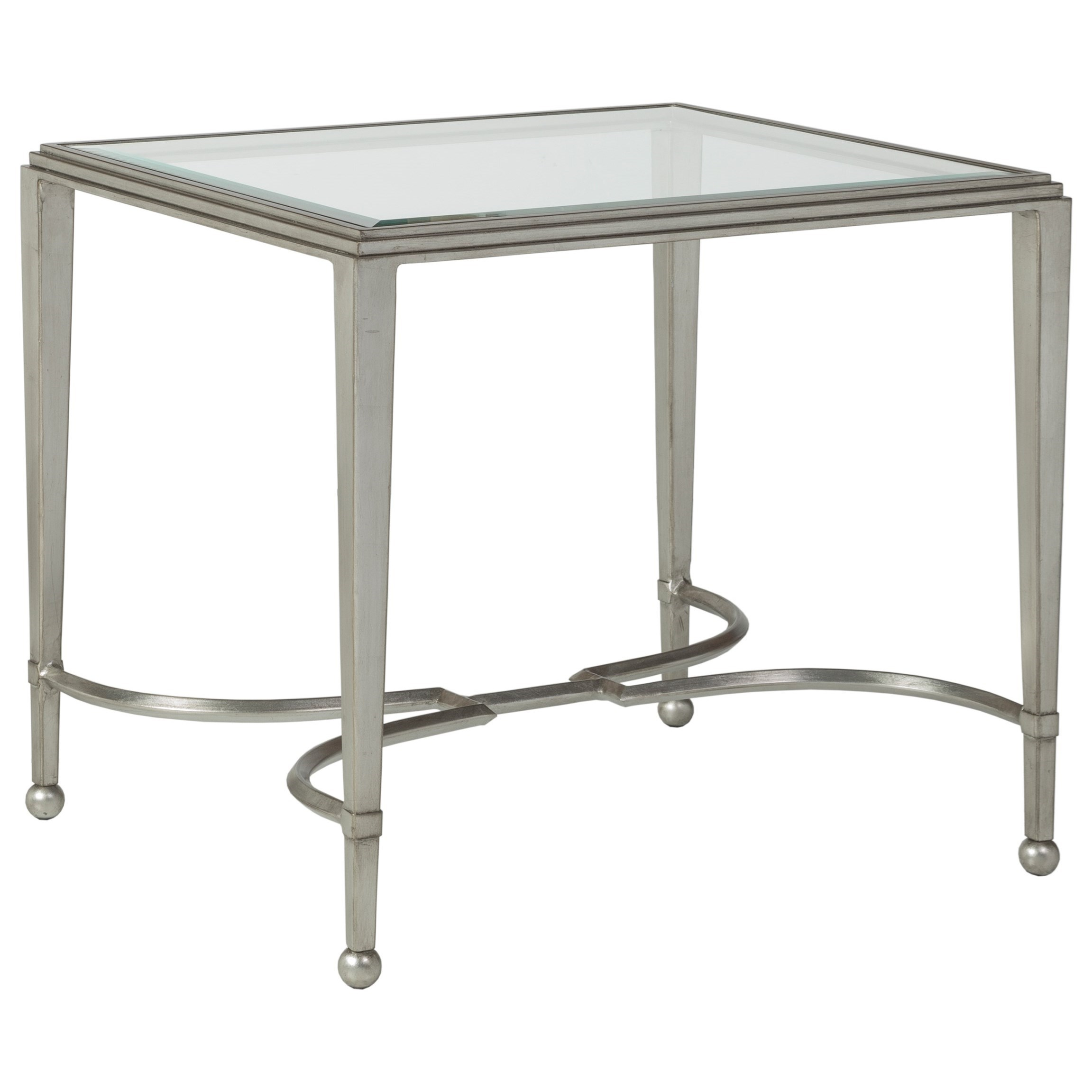 Artistica Metal Sangioves Rectangular End Table by Artistica at Baer's Furniture