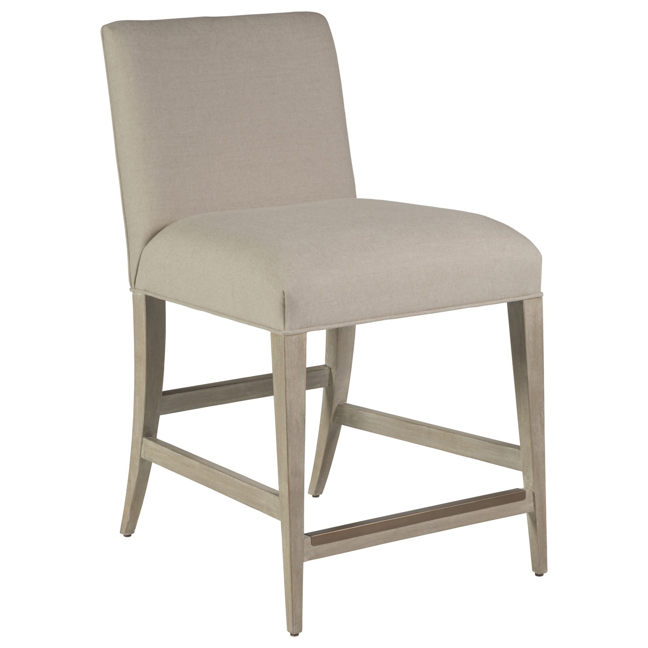 Madox Upholstered Low Back Counter Stool