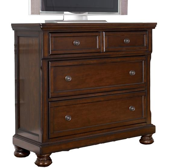 Ashley Furniture Porter Bedroom Collection Media Chest Ivan Smith Furniture Chest Media Chest