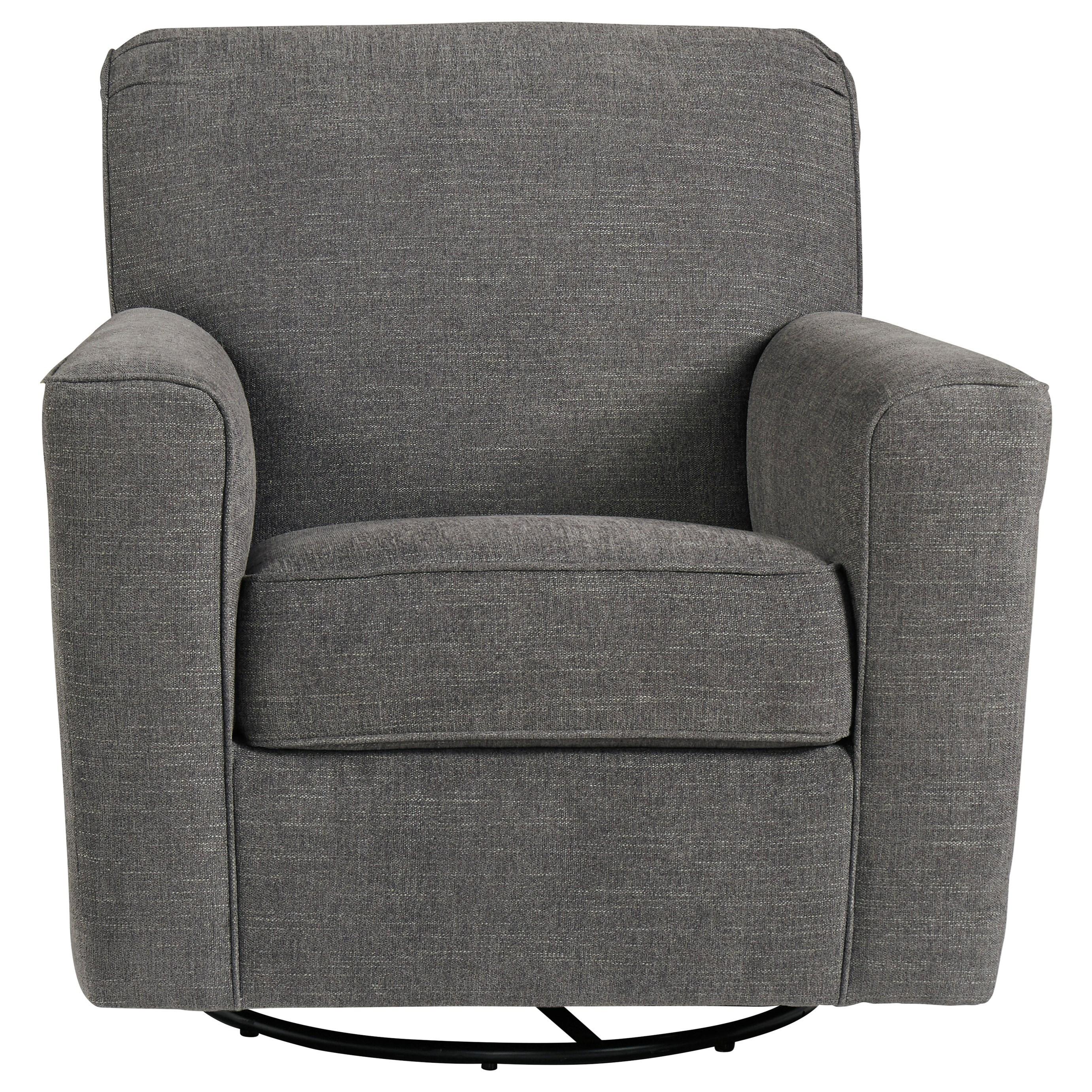Alcona Swivel Glider Accent Chair