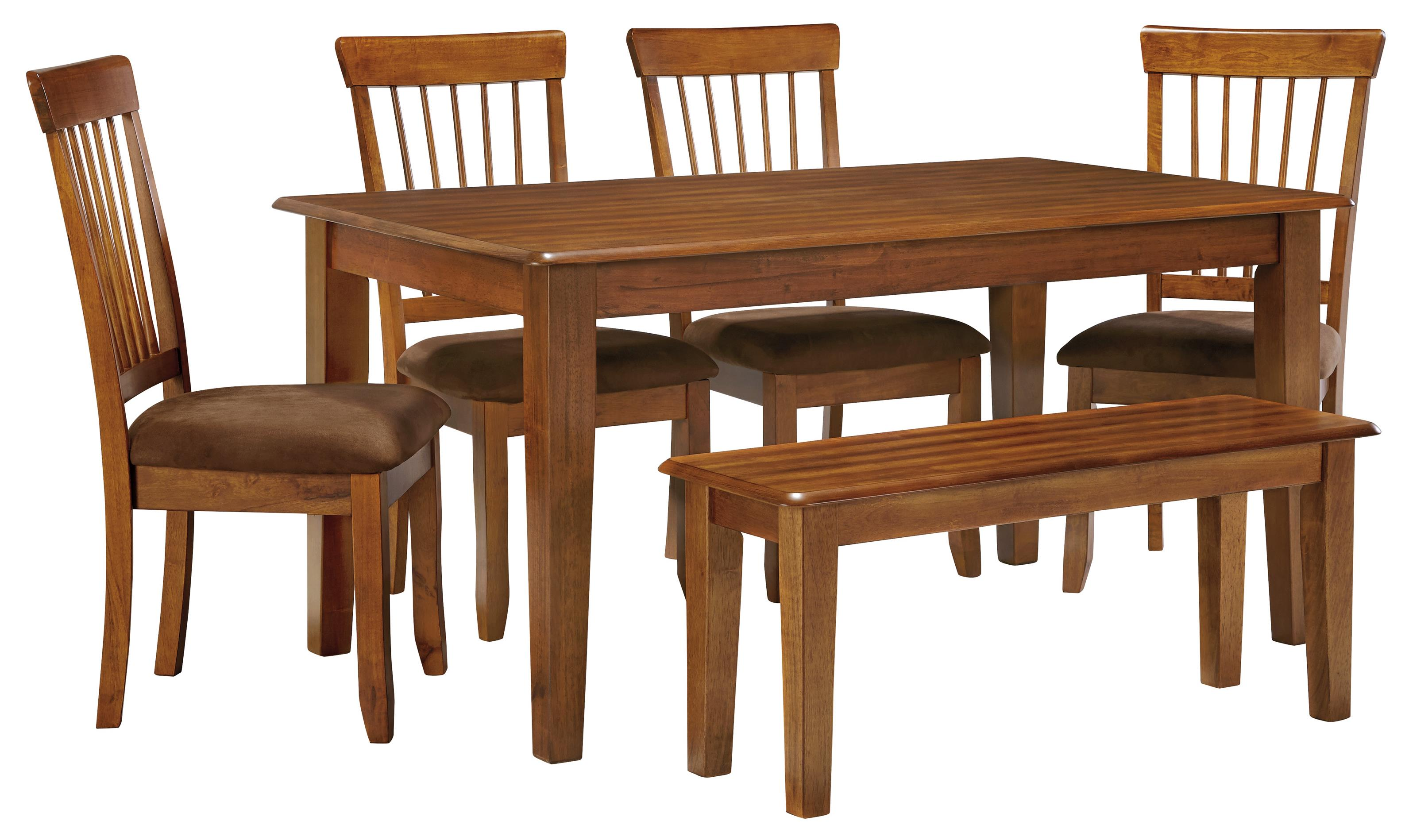 ashley furniture berringer 36 x 60 table with 4 chairs bench beck 39 s furniture table. Black Bedroom Furniture Sets. Home Design Ideas