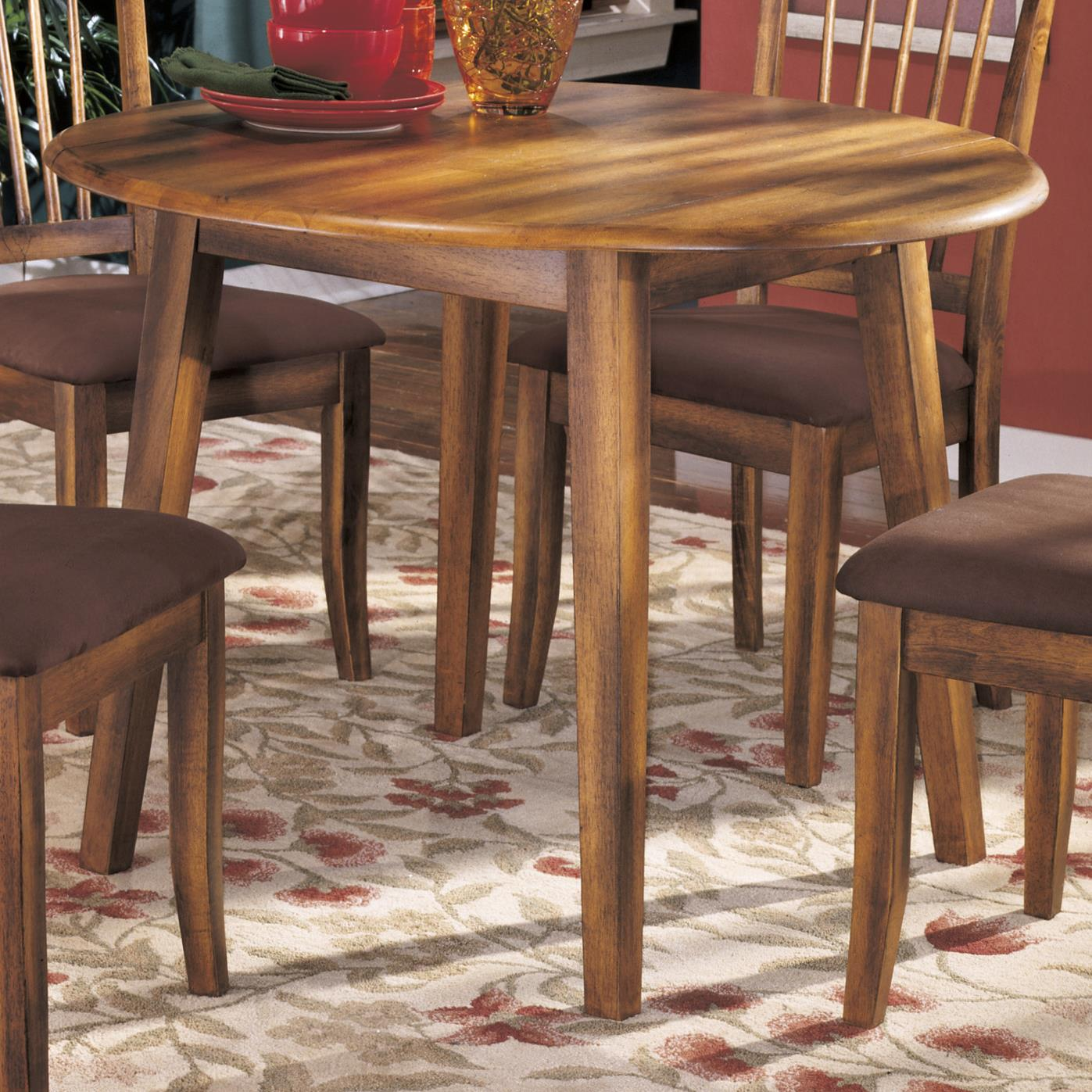 Ashley furniture berringer d199 15 hickory stained for Ashley furniture kitchen tables