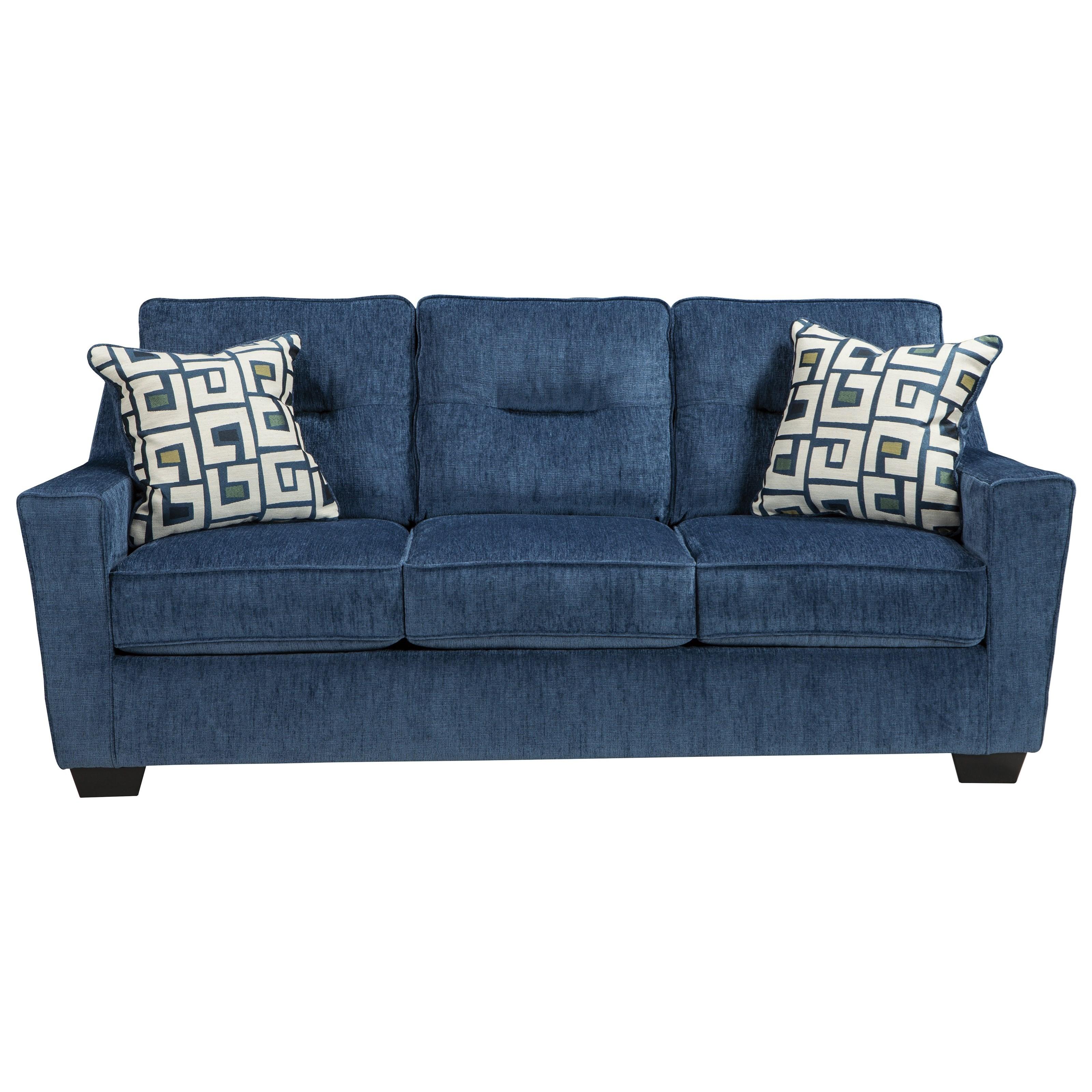 ashley furniture blue sofa aldy sofa pacific ashley furniture home thesofa. Black Bedroom Furniture Sets. Home Design Ideas