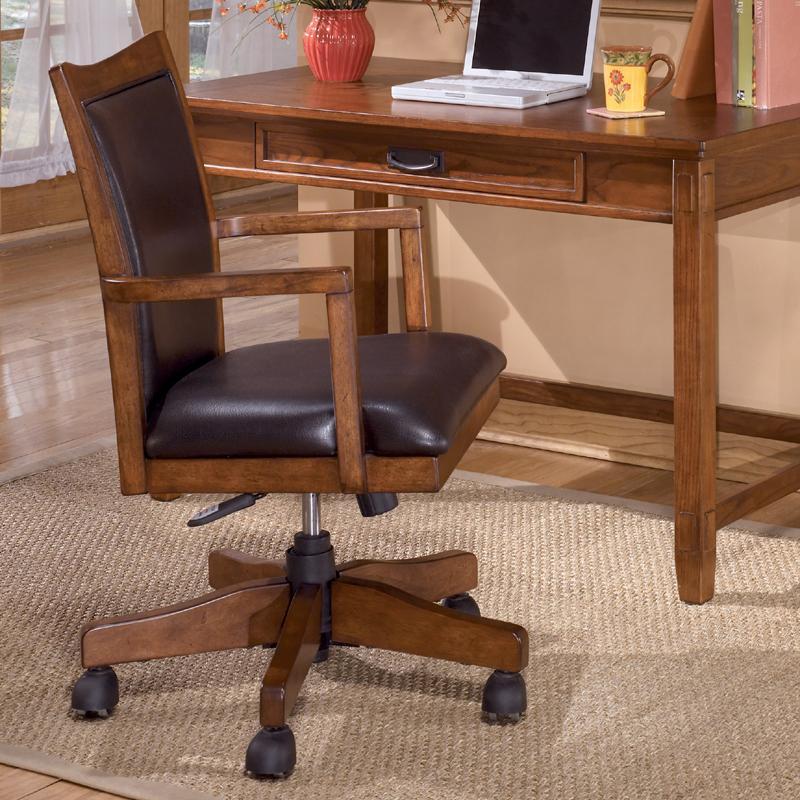 Ashley Furniture Cross Island H319 01a Swivel Desk Chair