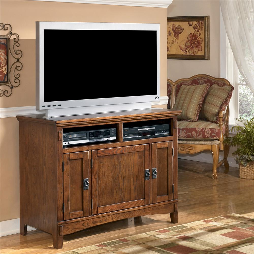 Ashley Furnitiure: Ashley Furniture Cross Island 42 Inch Oak TV Stand With