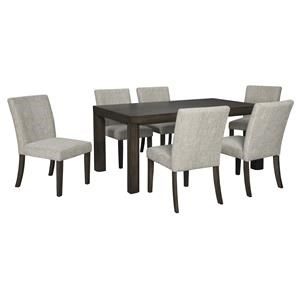 Ashley Furniture Deylin D437 25 6x01 7 Piece Rectangular