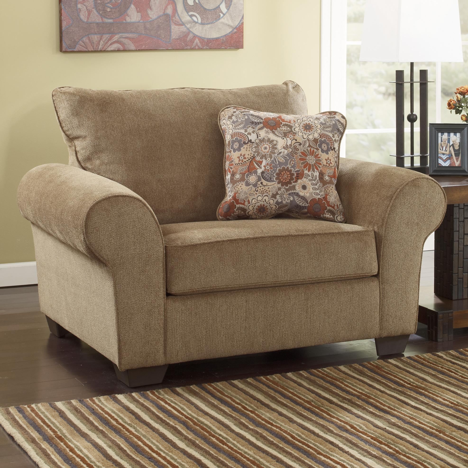 Ashley Furniture Galand Umber Chair and a Half with