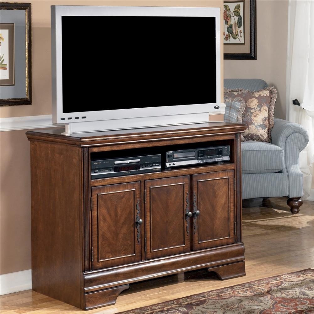 Signature design by ashley hamlyn 42 inch tv stand for Tv furniture