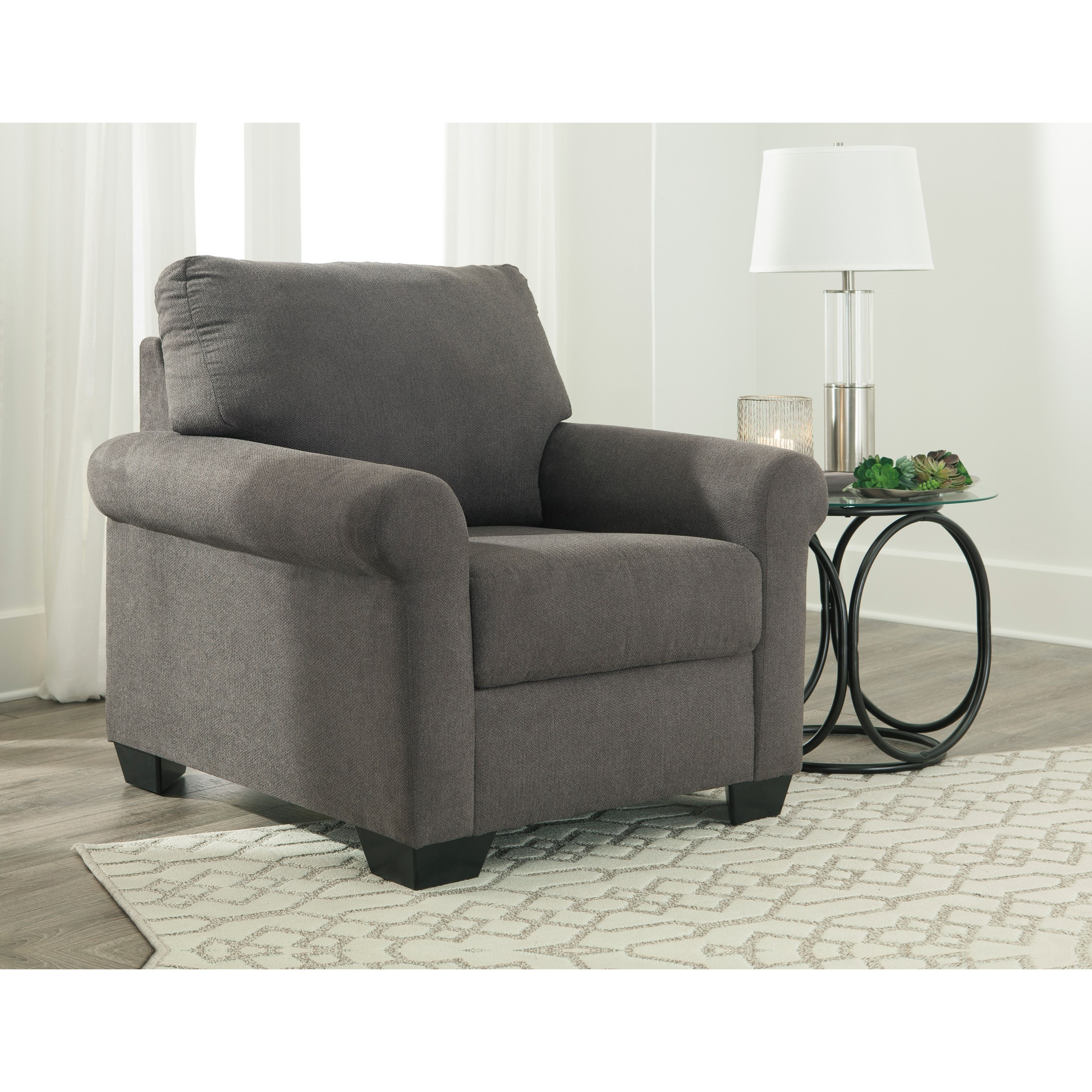 Ashley furniture kexlor 1050120 transitional accent chair for Ashley furniture appleton