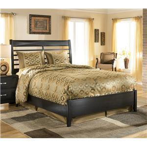 Ashley furniture kira king storage bed ahfa captain 39 s bed dealer locator for Bedroom furniture greensboro nc