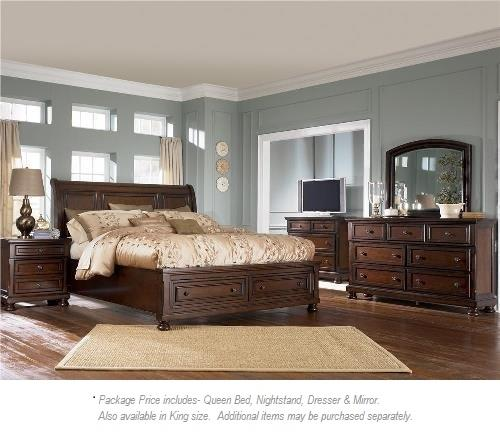 ashley furniture porter 4pc queen bedroom miskelly
