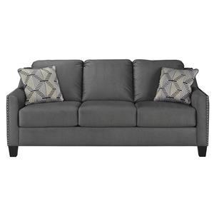Ashley Furniture Ballina 1470738 Linen Sofa Sam Levitz