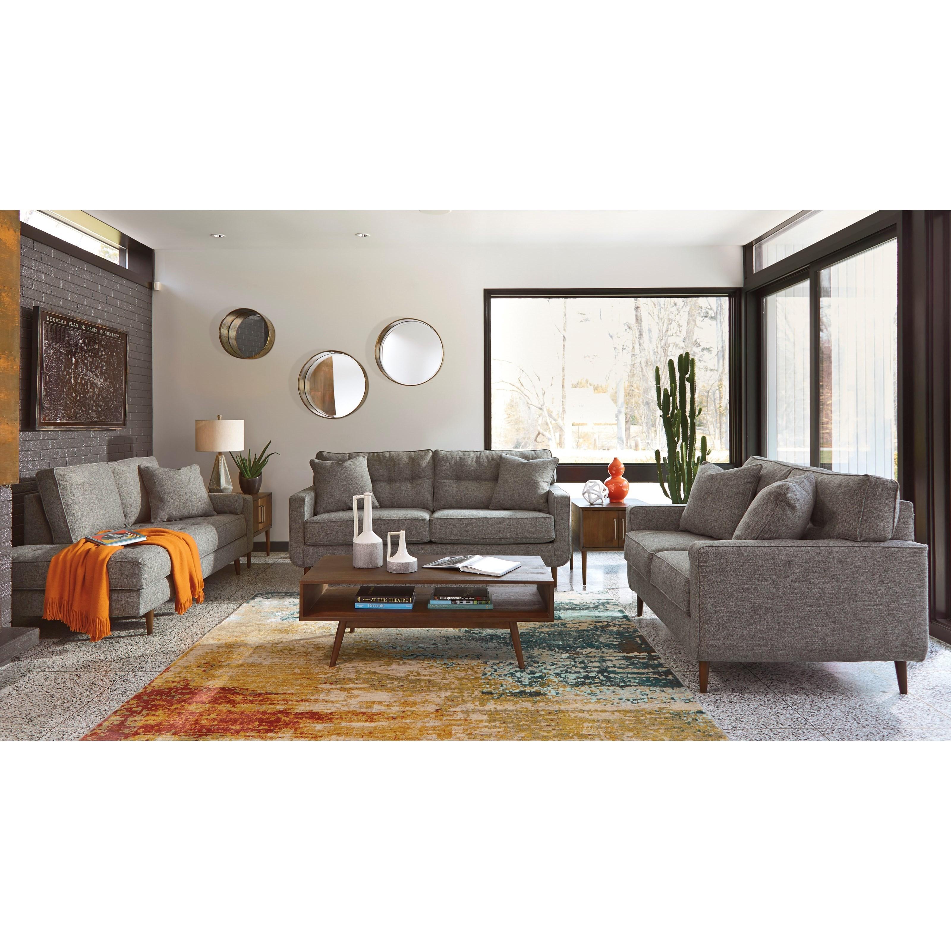 Ashley Furniture Zardoni Stationary Living Room Group Value City Furniture Stationary Living