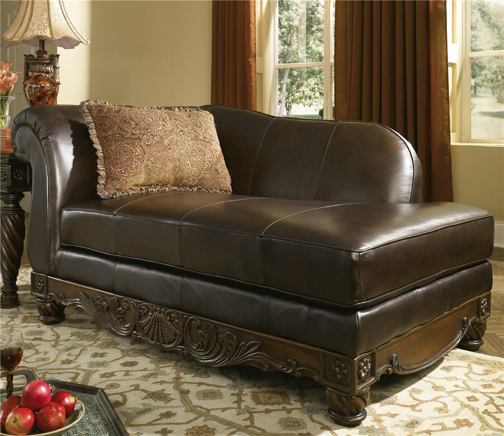 Millennium North Shore Dark Brown Leather Corner Chaise Royal Furniture Chaises