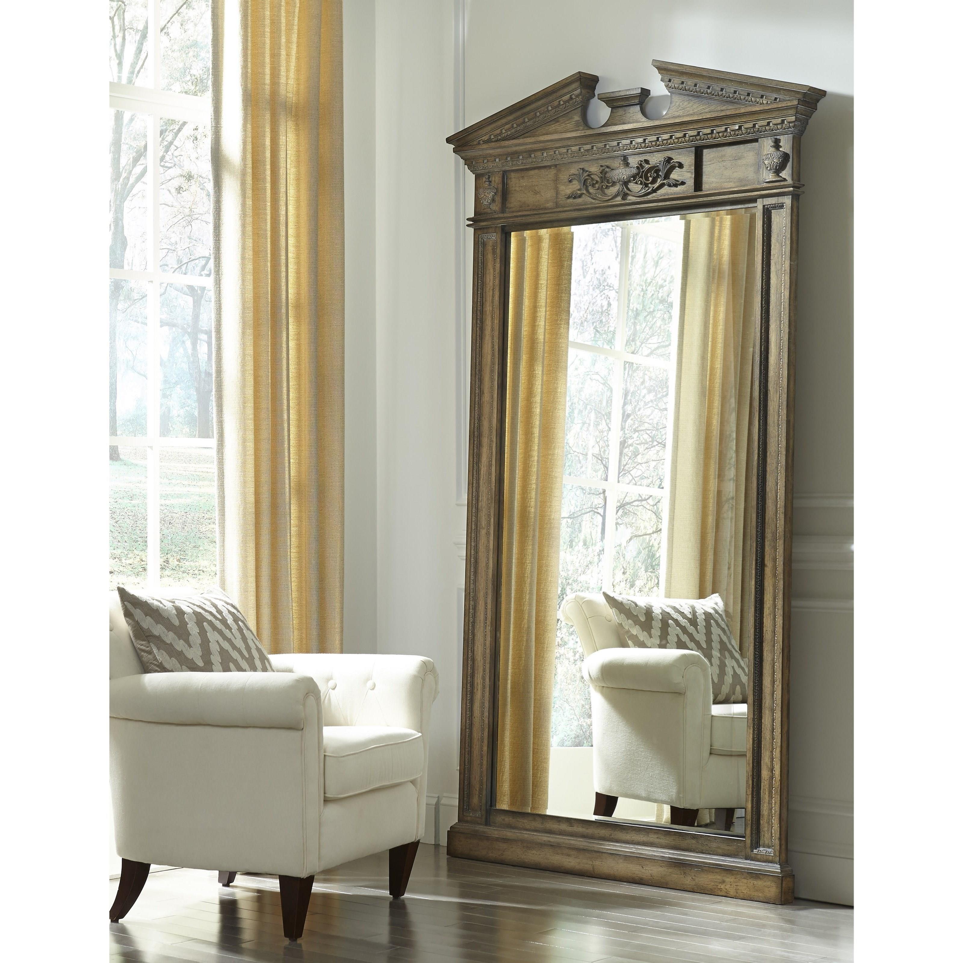 Aspenhome belle maison i94 465f greek inspired floor mirror becker furniture world floor mirrors - Maison edge aspen studio b ...