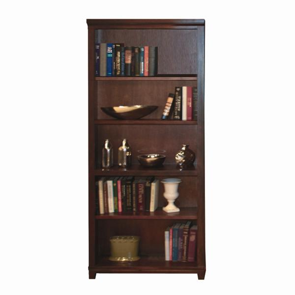 Aspenhome Cambridge 74 Inch Standard Bookcase Olinde 39 S Furniture Open Bookcases