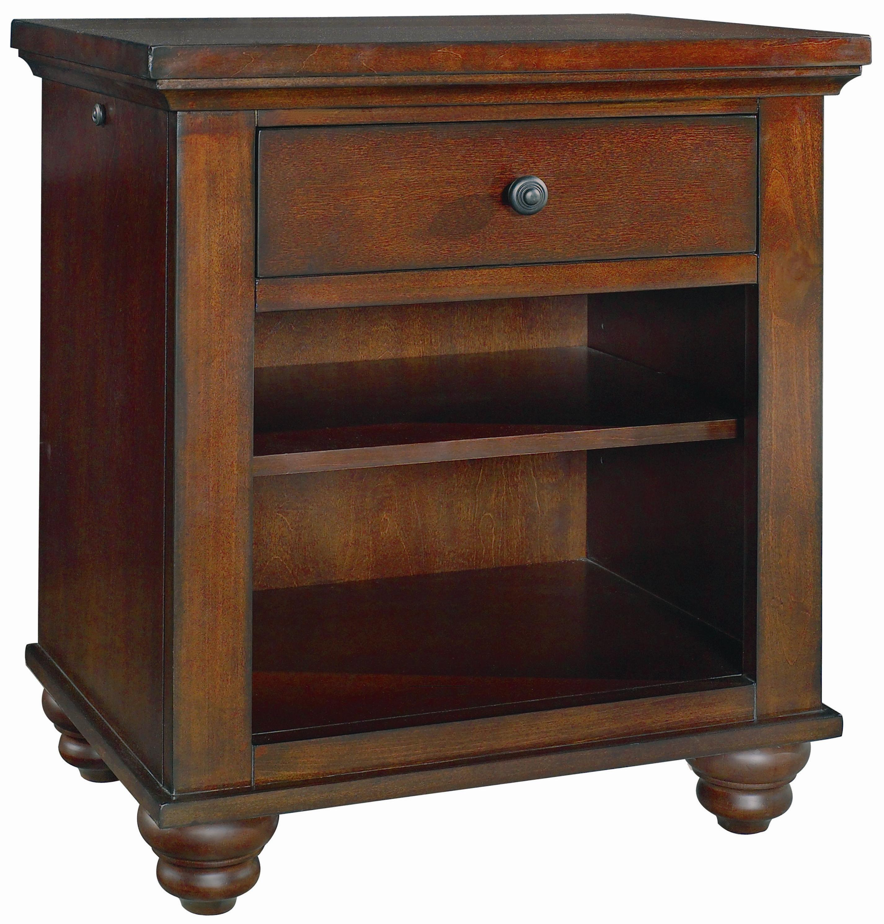 Aspenhome Cambridge Night Stand With Drawer Olinde 39 S Furniture Night Stand