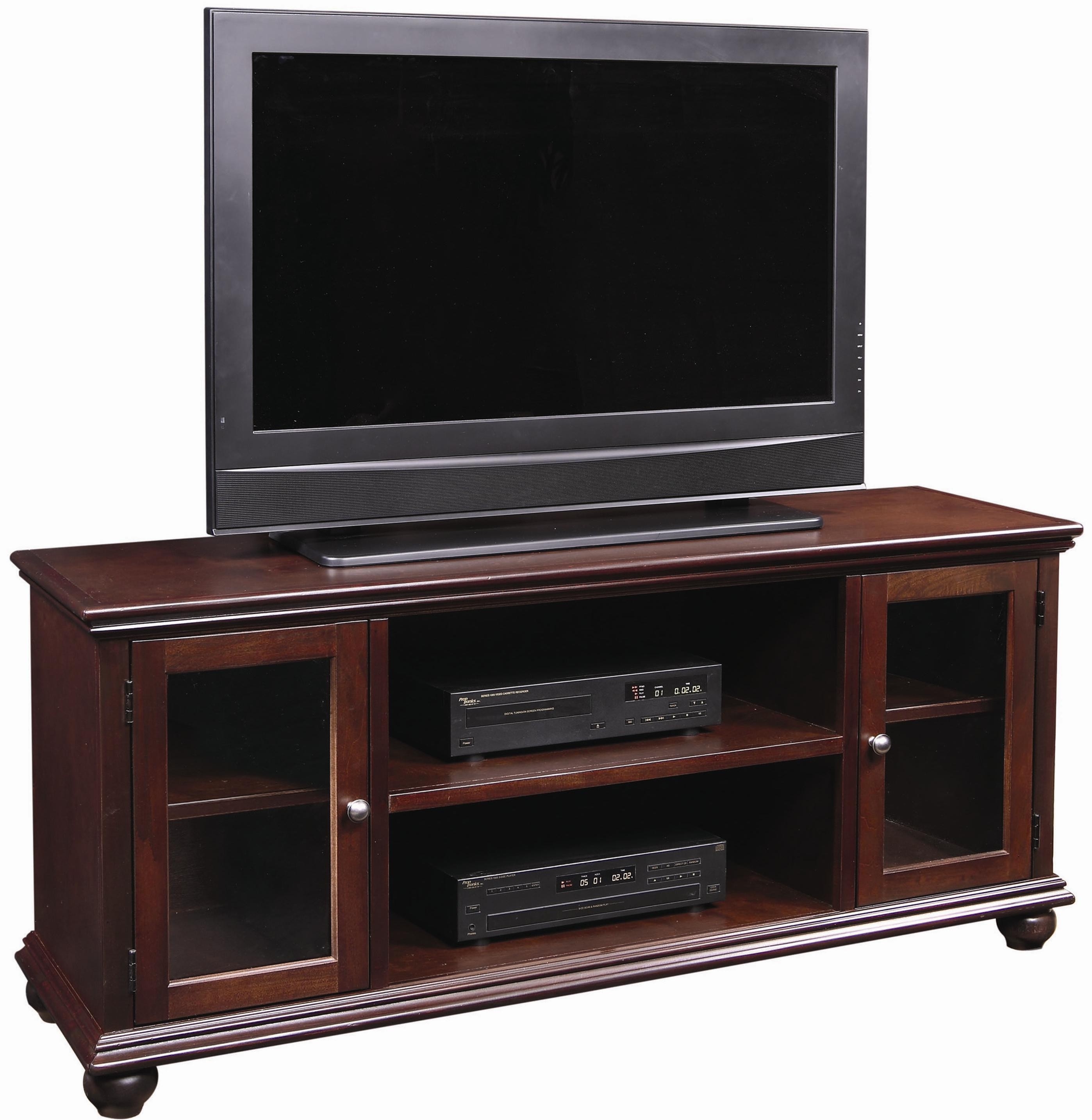 aspenhome casual traditional ct1061 chy 61 inch television. Black Bedroom Furniture Sets. Home Design Ideas