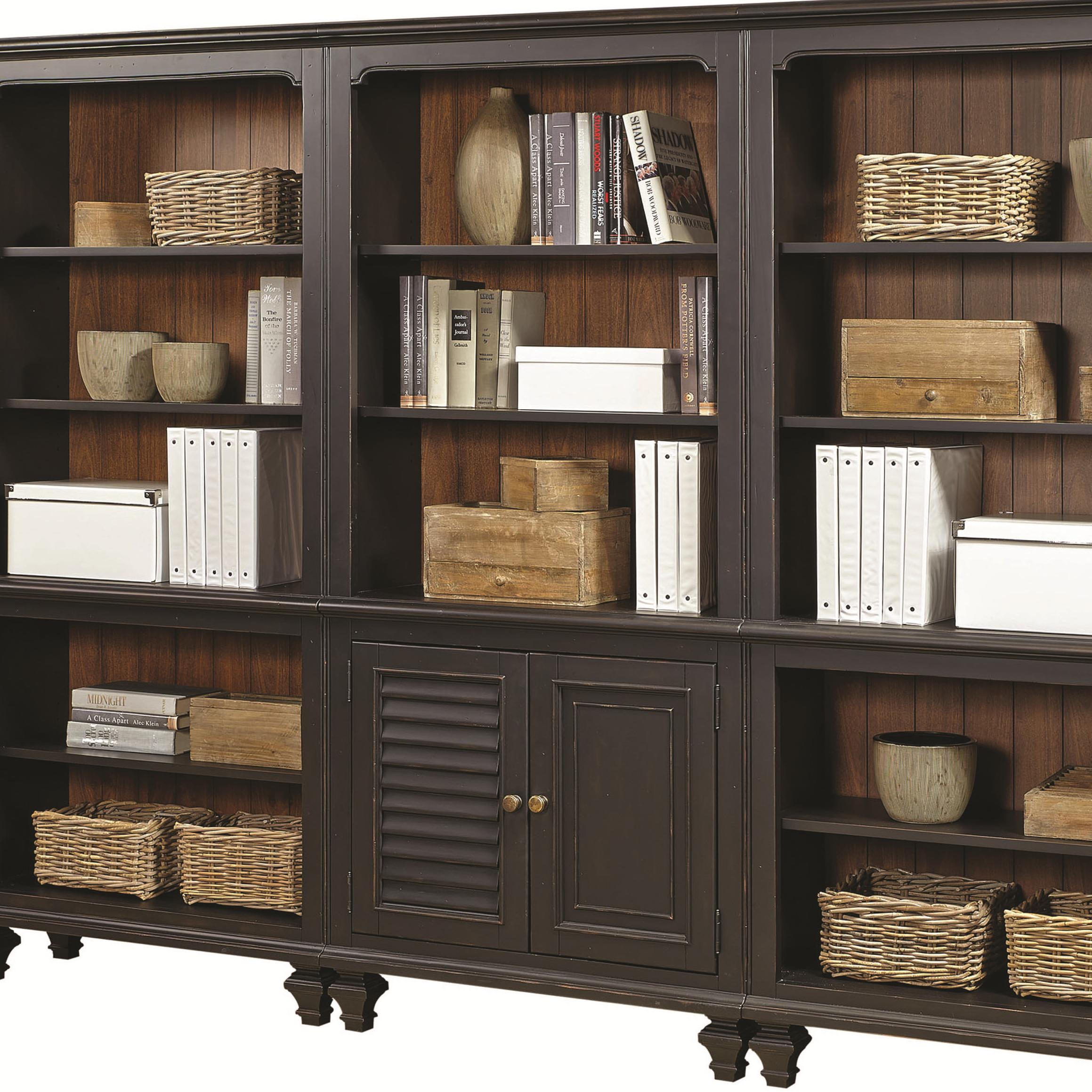 Aspenhome Ravenwood Bookcase With 2 Reversible Panel Doors And 3 Adjustable Shelves Olinde 39 S