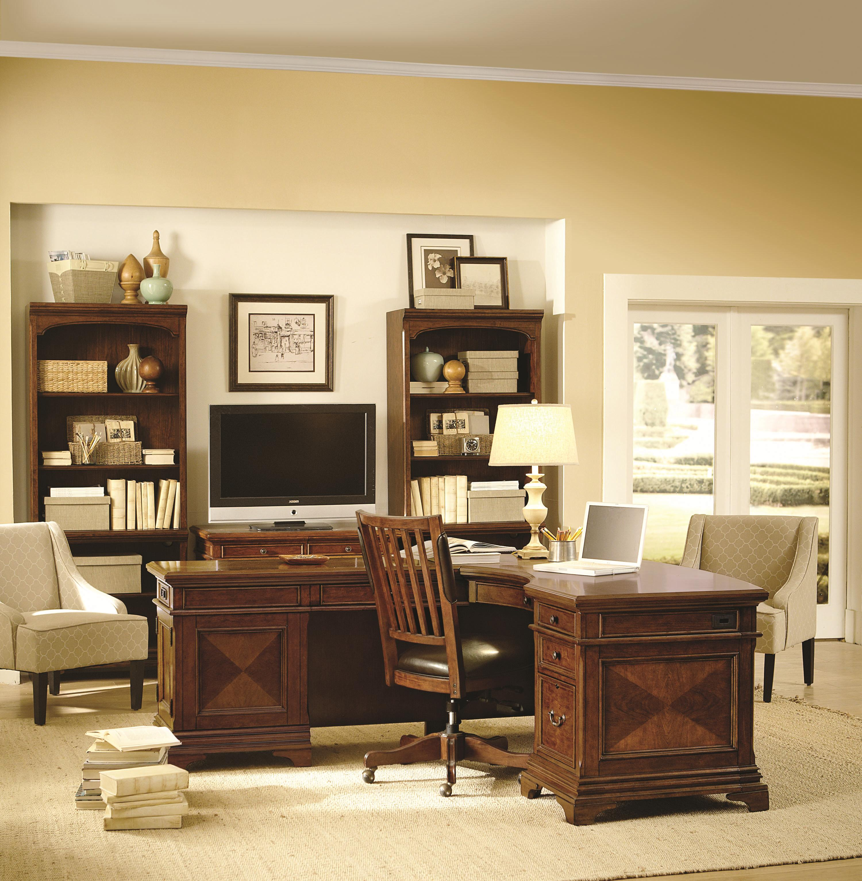aspenhome hawthorne office chair with bonded leather seat