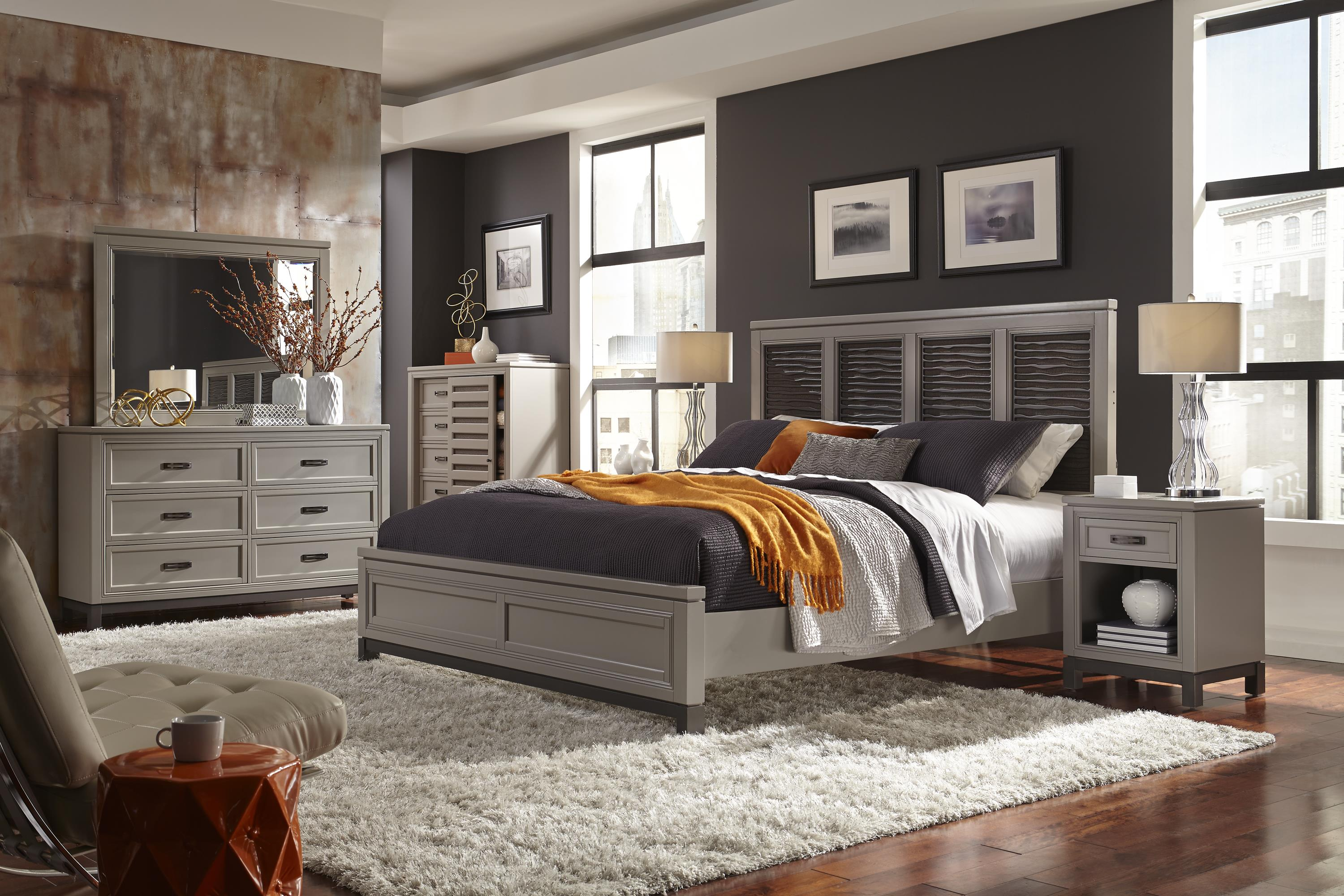 Aspenhome Hyde Park Queen Bedroom Group Wayside Furniture Bedroom Group