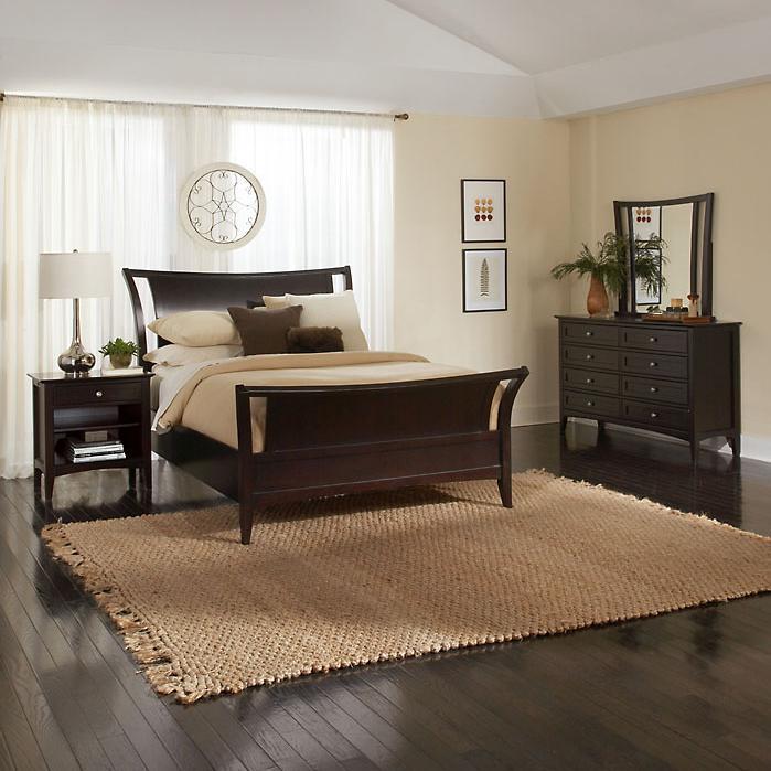 Aspenhome Kensington Ikj 400 401 402l Contemporary Queen Sleigh Bed Becker Furniture World
