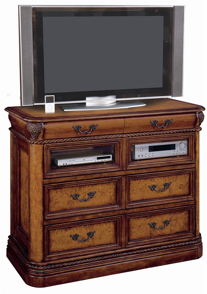 Aspenhome Napa I74 485 3 3 Drawer Entertainment Chest With