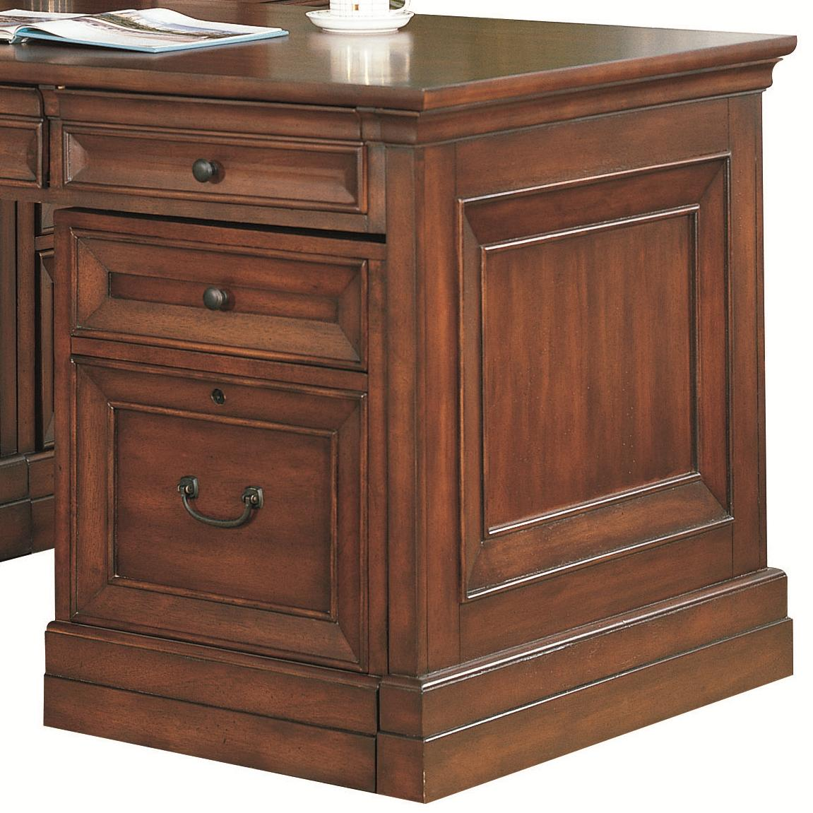 Aspenhome Richmond I40 341d 3 Drawer Unit With Locking File Drawer Hudson 39 S Furniture File