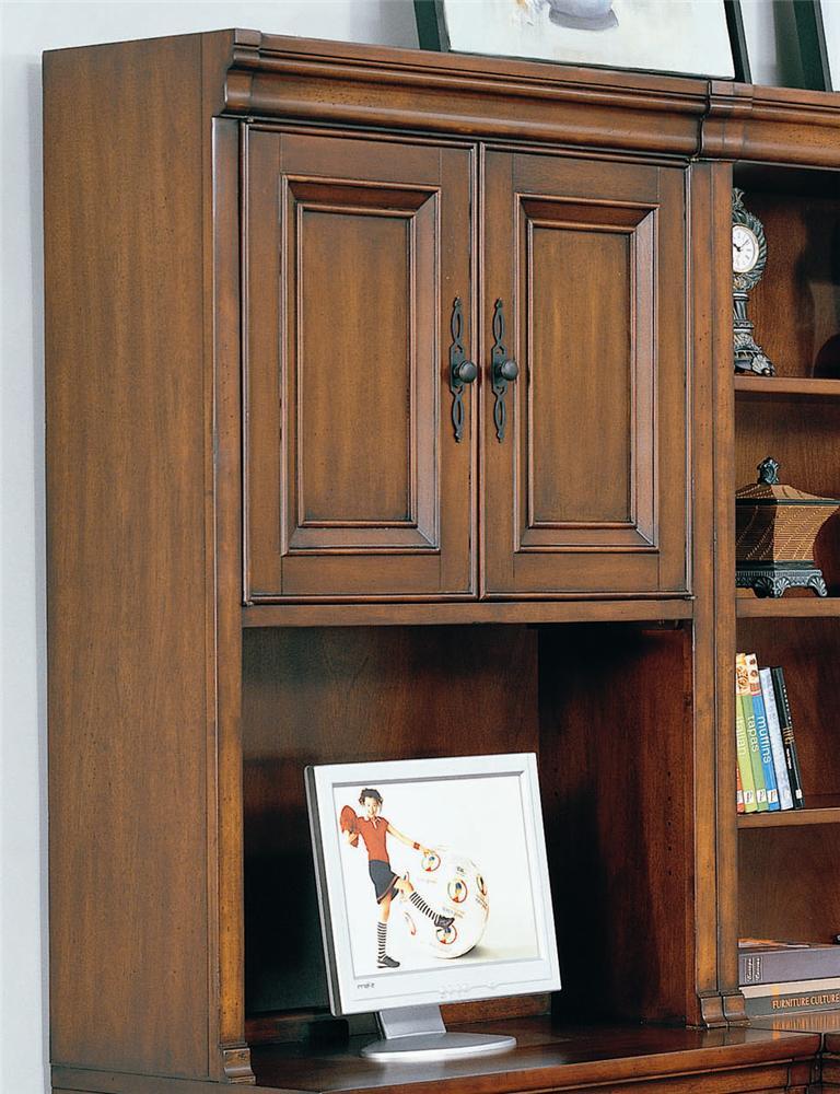 Aspenhome Richmond I40 342 Hutch With Doors Dunk Bright Furniture Hutch