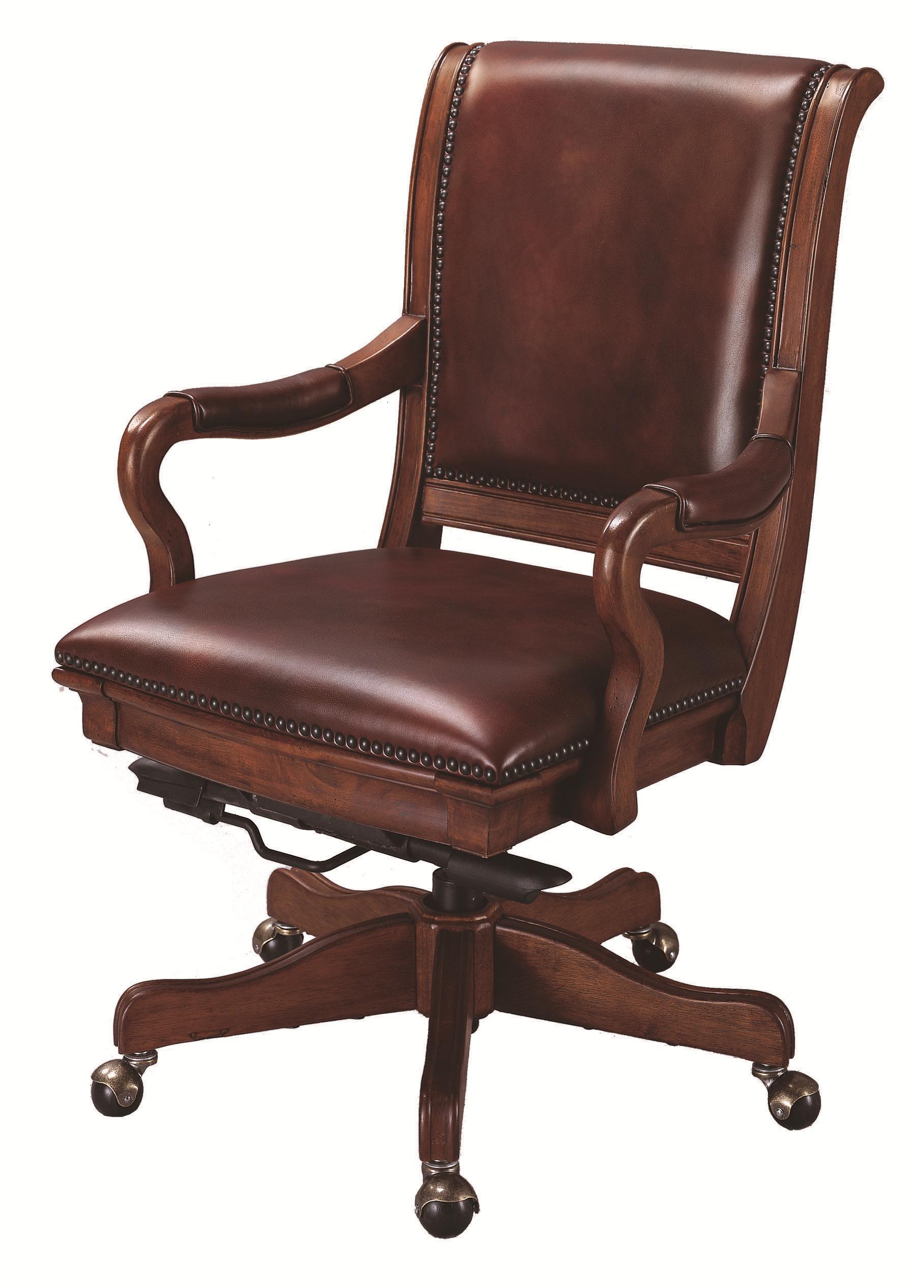 Aspenhome richmond l85 269963 leather upholstered caster for Hudsons furniture