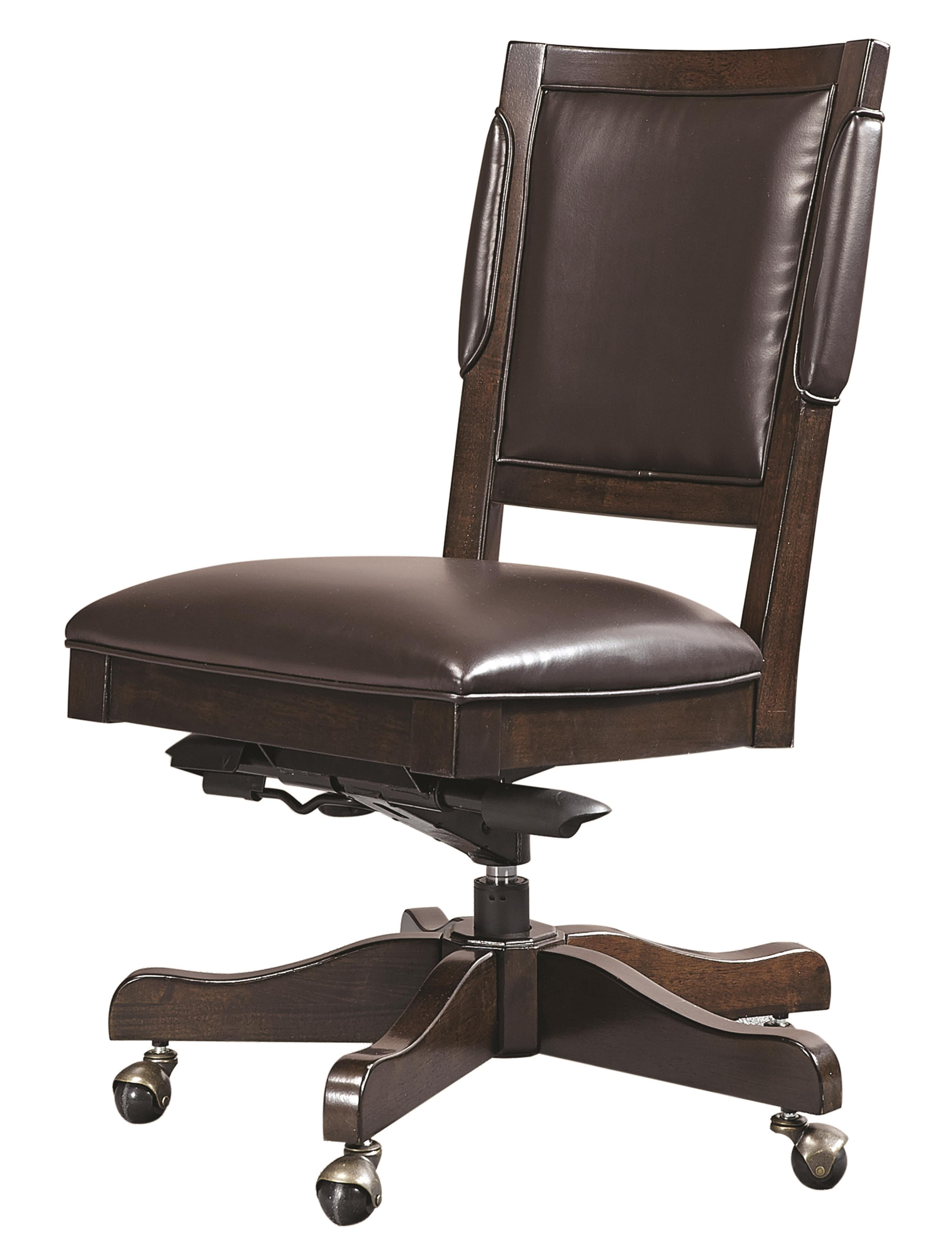 armless bonded leather chair hudson 39 s furniture office task chairs