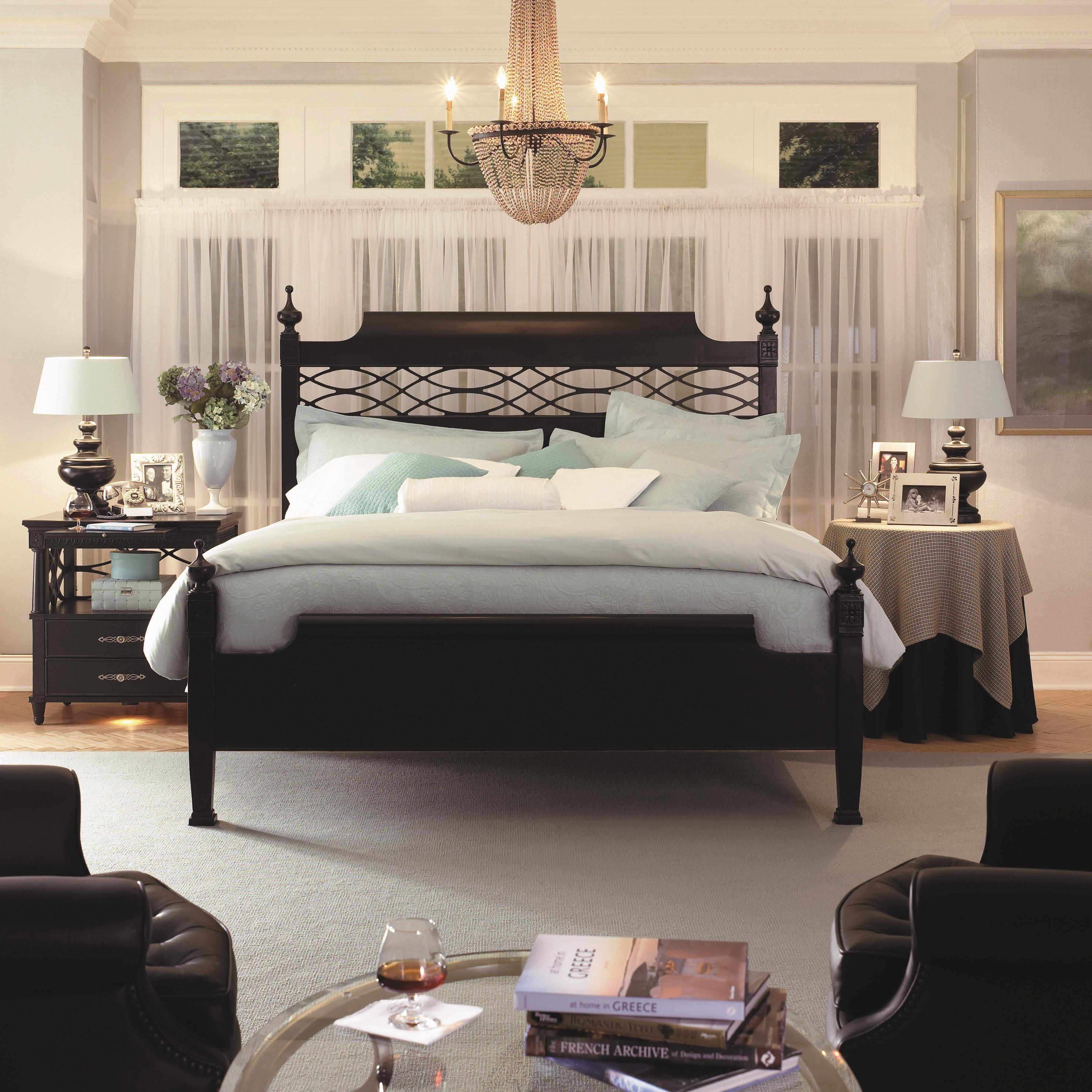Youngstown king size chesapeake poster bed morris home for Short four poster bed
