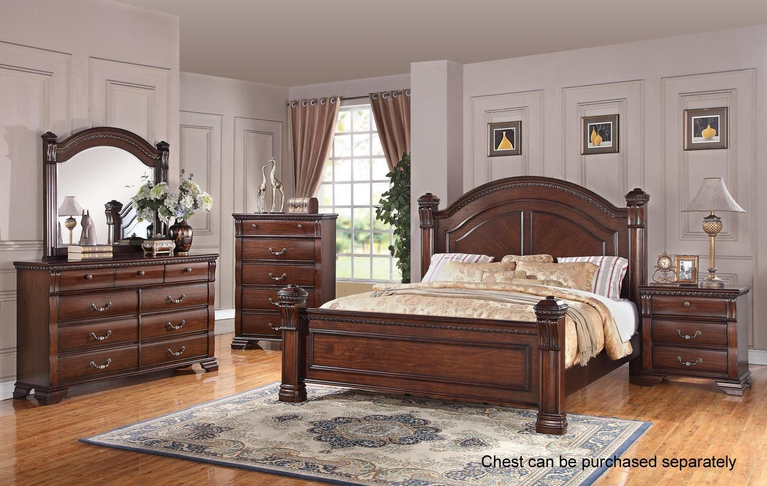 Austin Group Isabella 527 Queen 6 Piece Bedroom Group