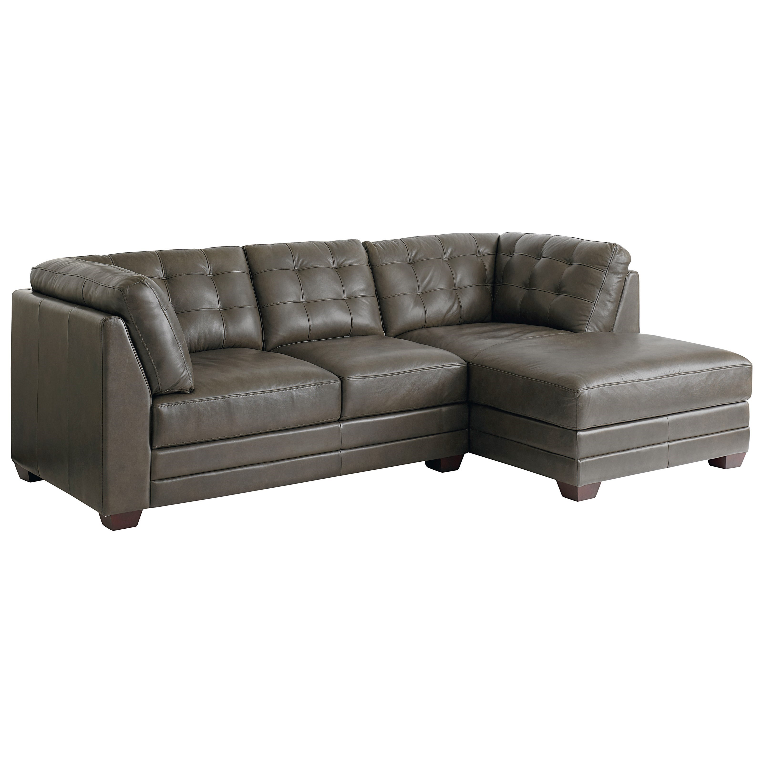 Bassett Affinity 2 Piece Sectional With Chaise Hudson 39 S