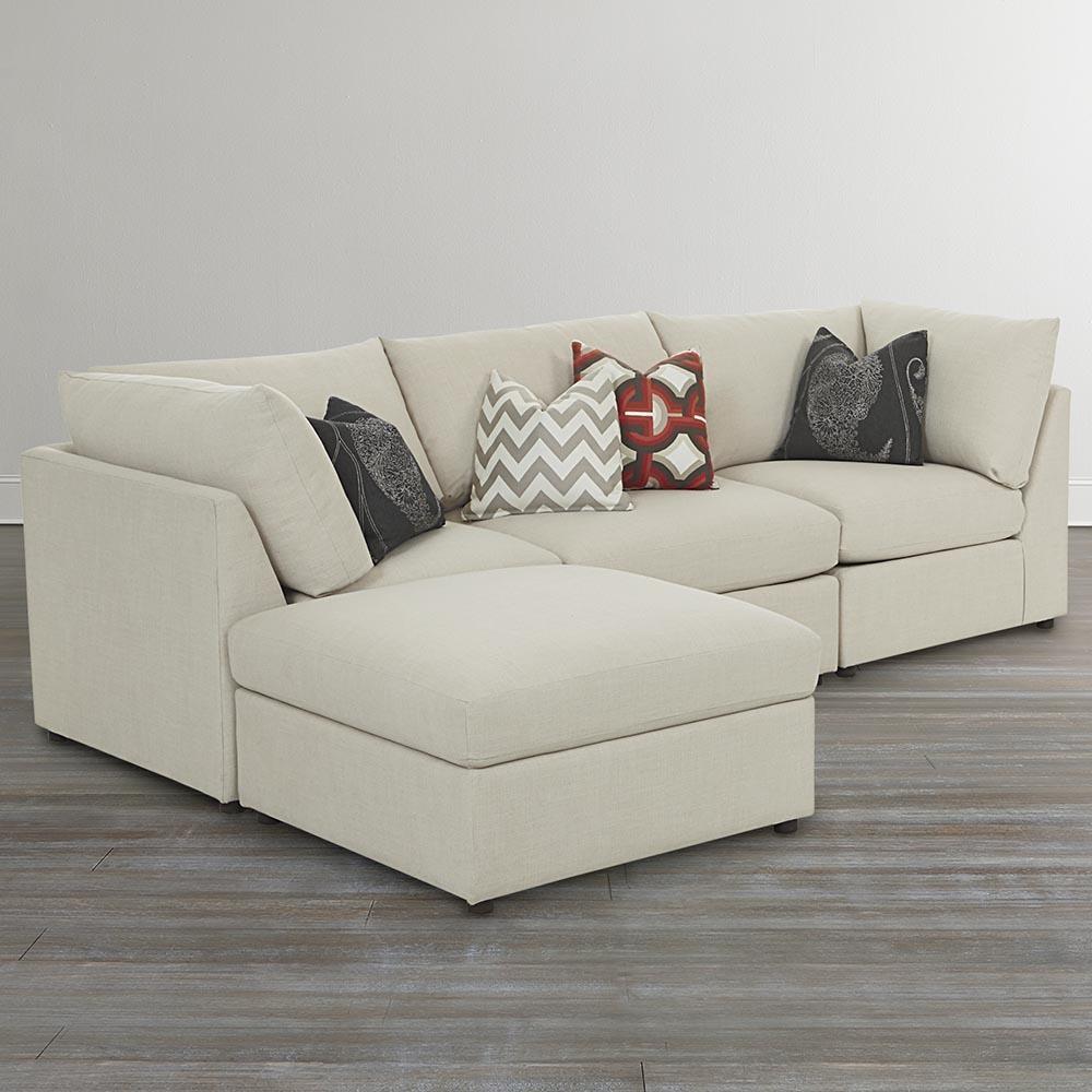 Bassett beckham 3974 3974 lsectr custom l shaped modular for L shaped modular homes