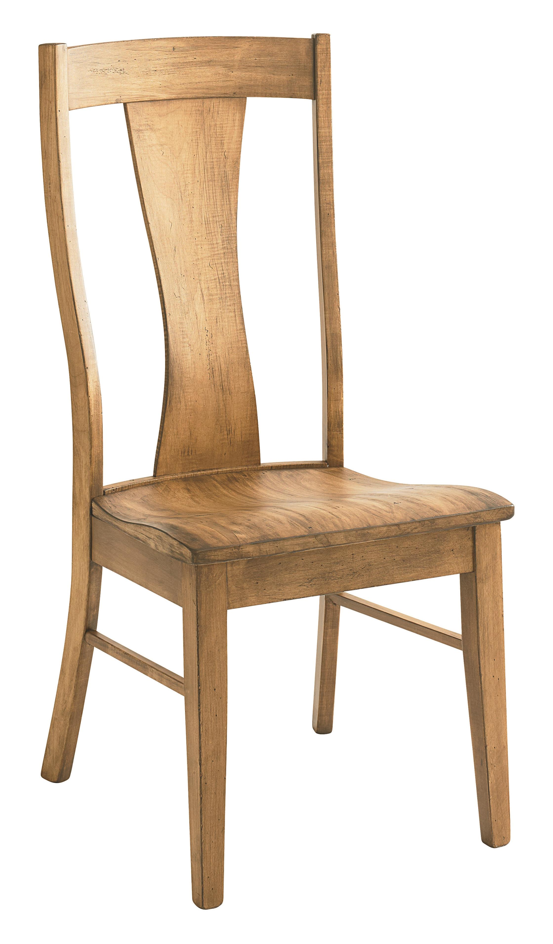 Bassett bench made boone transitional side chair fashion for Made dining chairs