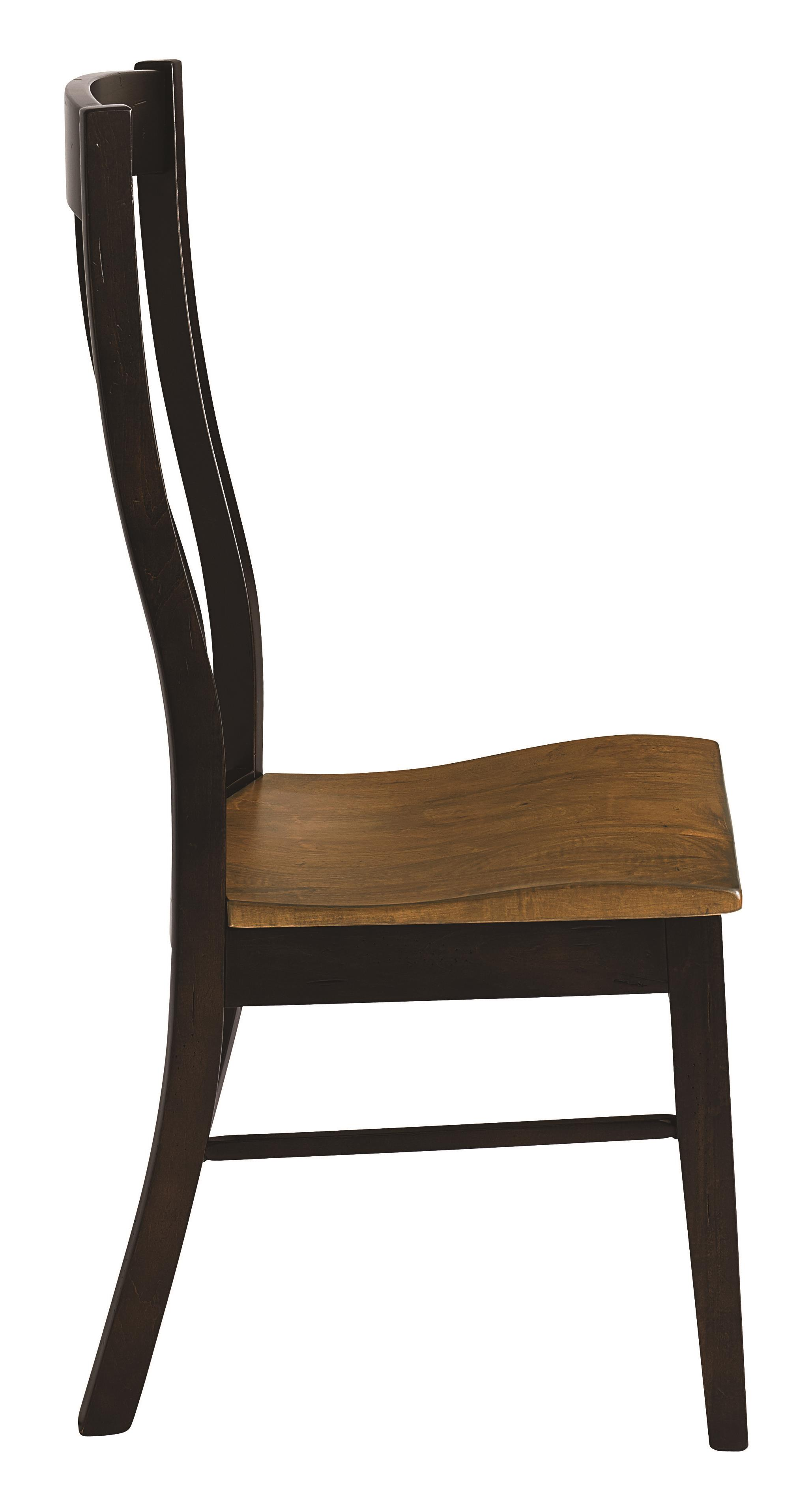 Bassett bench made 4015 2000 boone transitional side chair for Made dining chairs