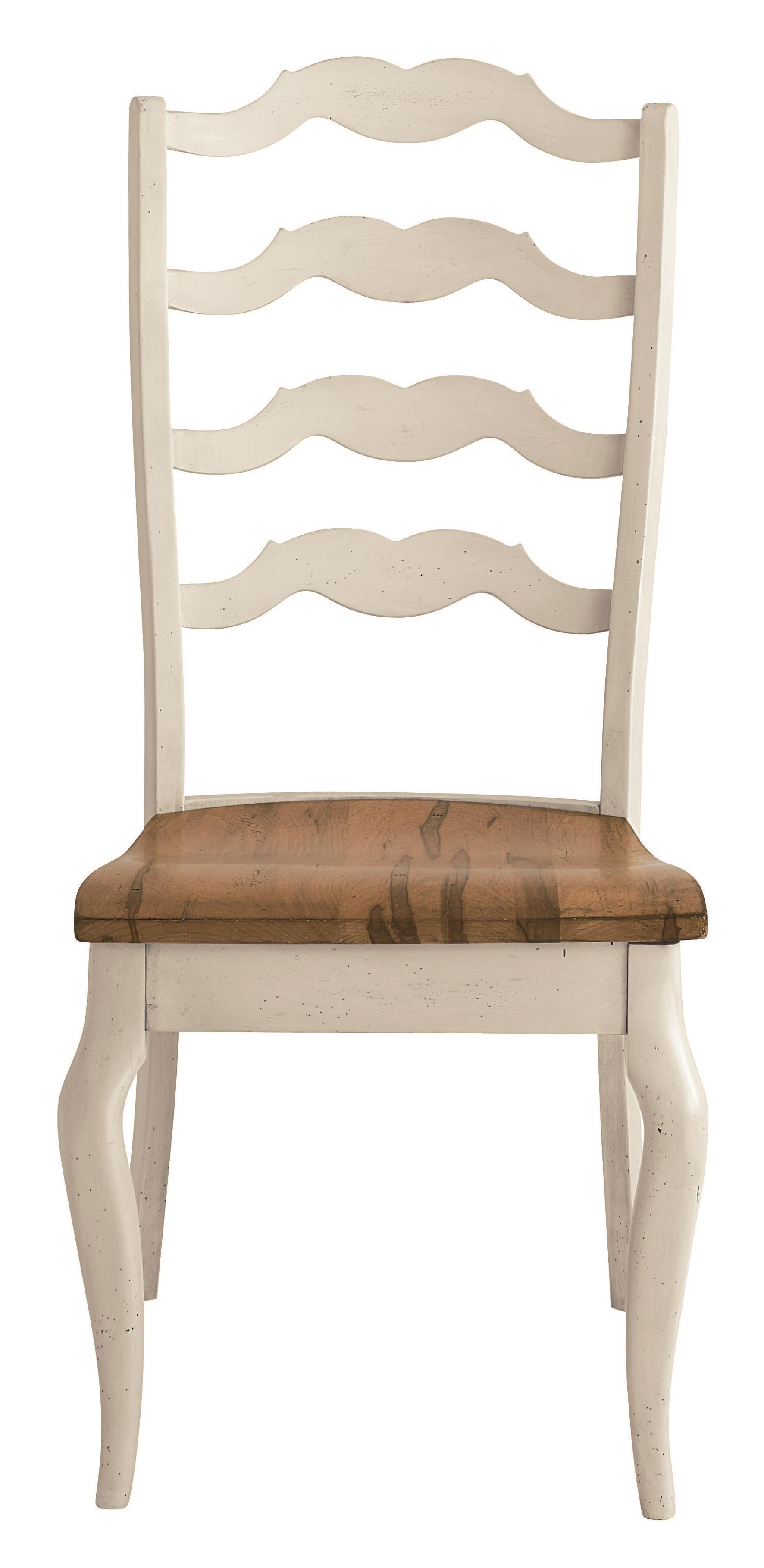 Bassett bench made 4015 2000 greyson side chair with for Made dining chairs