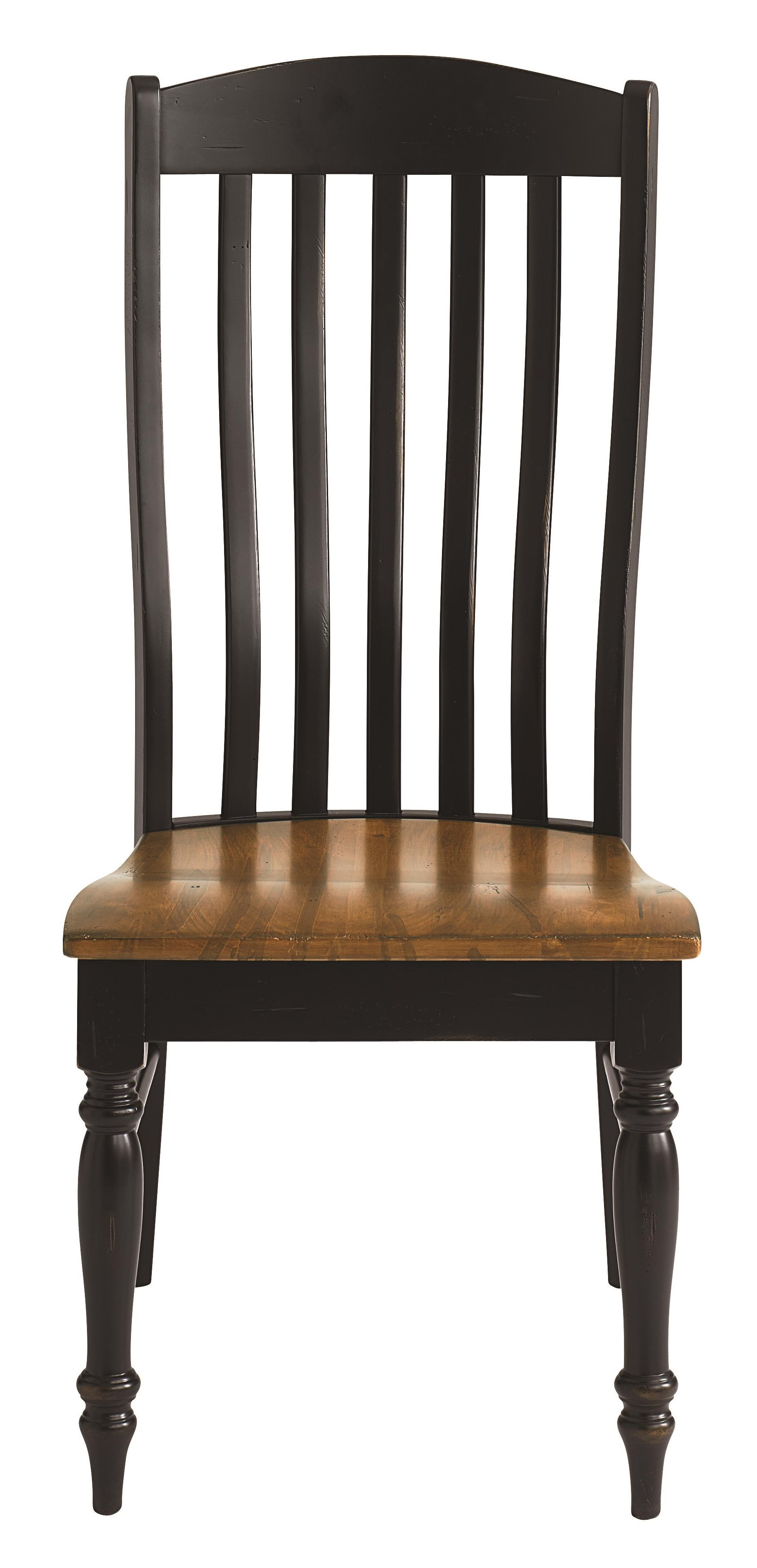 Bassett bench made 4015 2000 henry side chair with classic for Made dining chairs