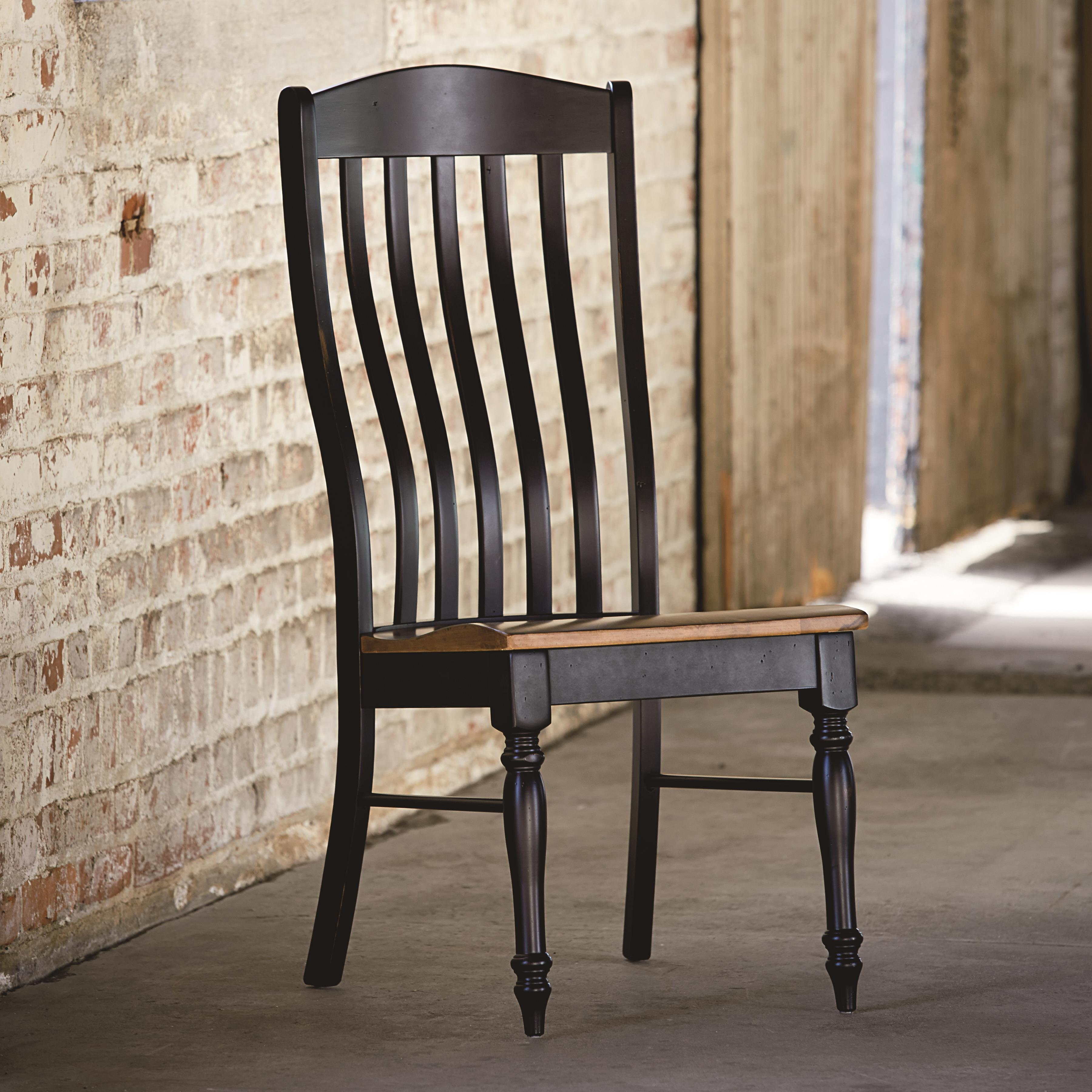 Bassett Bench Made 4015-2000 Henry Side Chair with Classic ...