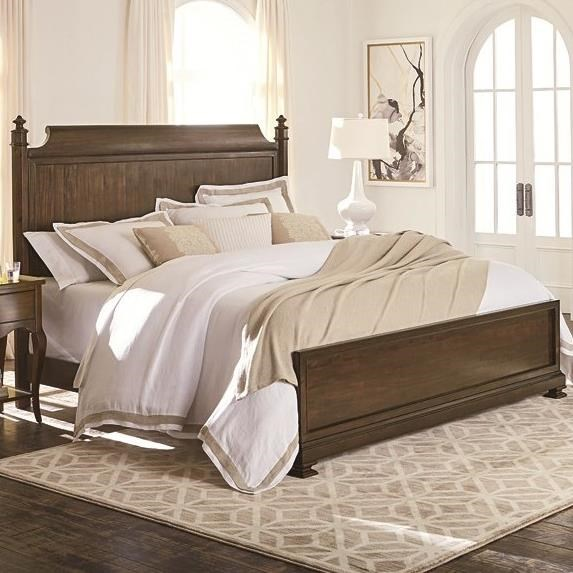 Bassett Chateau 2690 K179 California King Panel Bed With