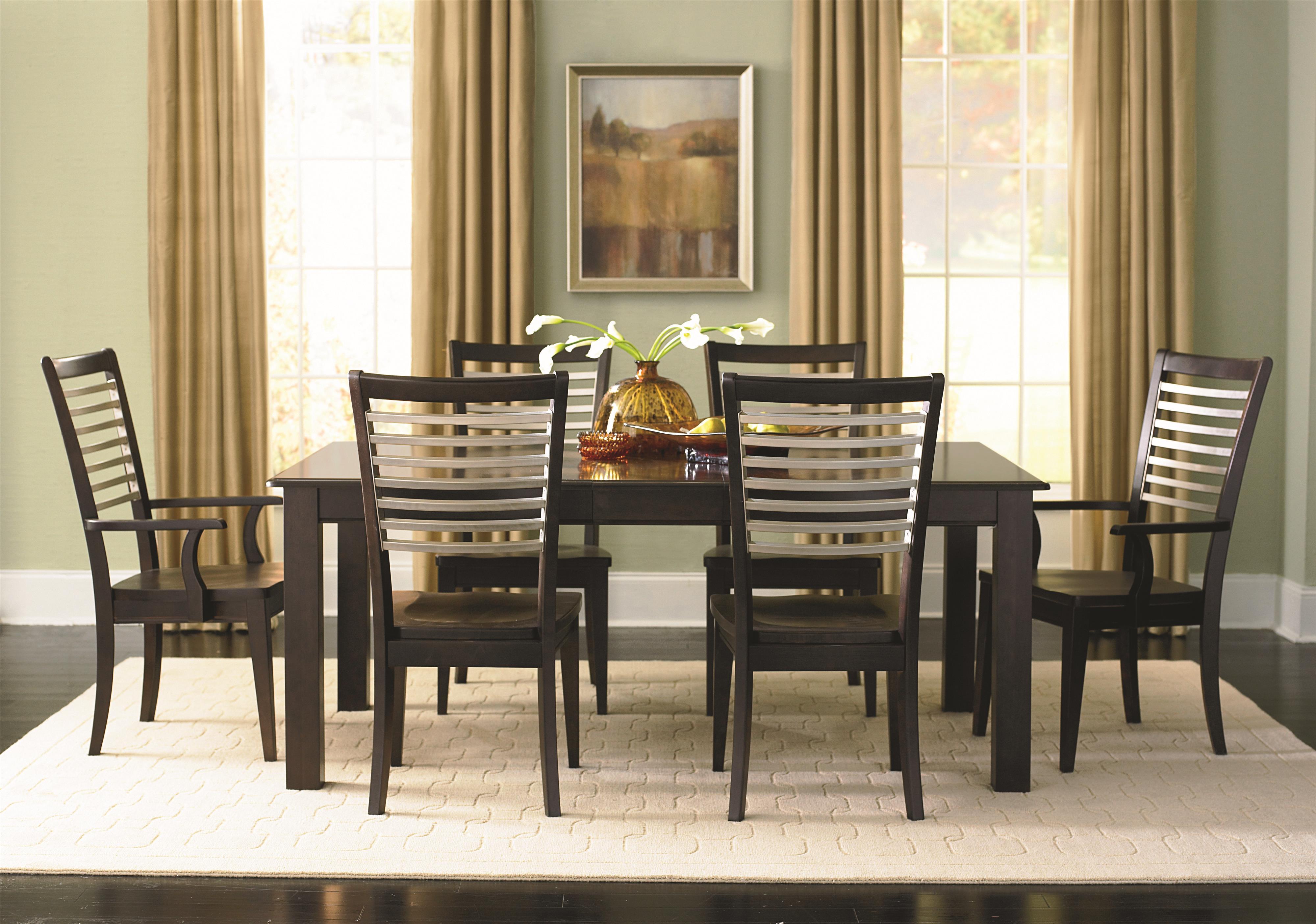 Bassett Custom Dining 4469 Customizable Rectangle Dining Table Dunk & B