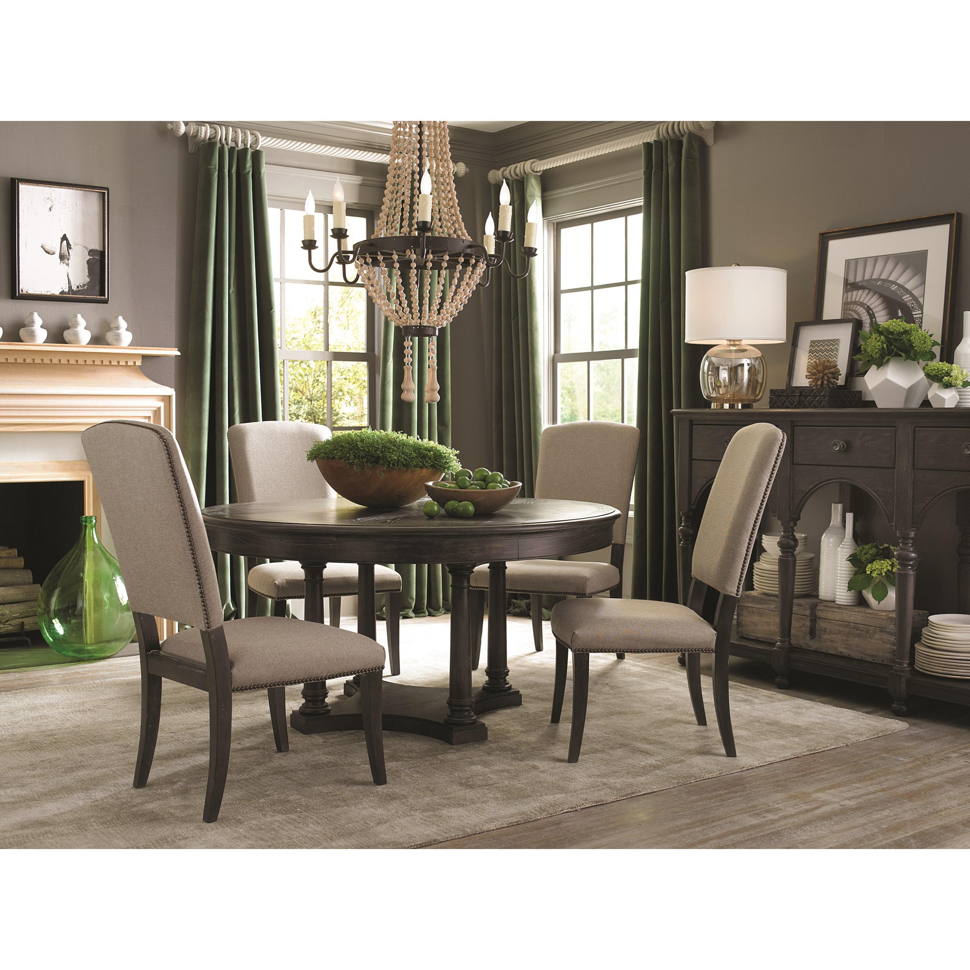 Bassett Emporium Upholstered Side Chair Becker Furniture World Dining Sid