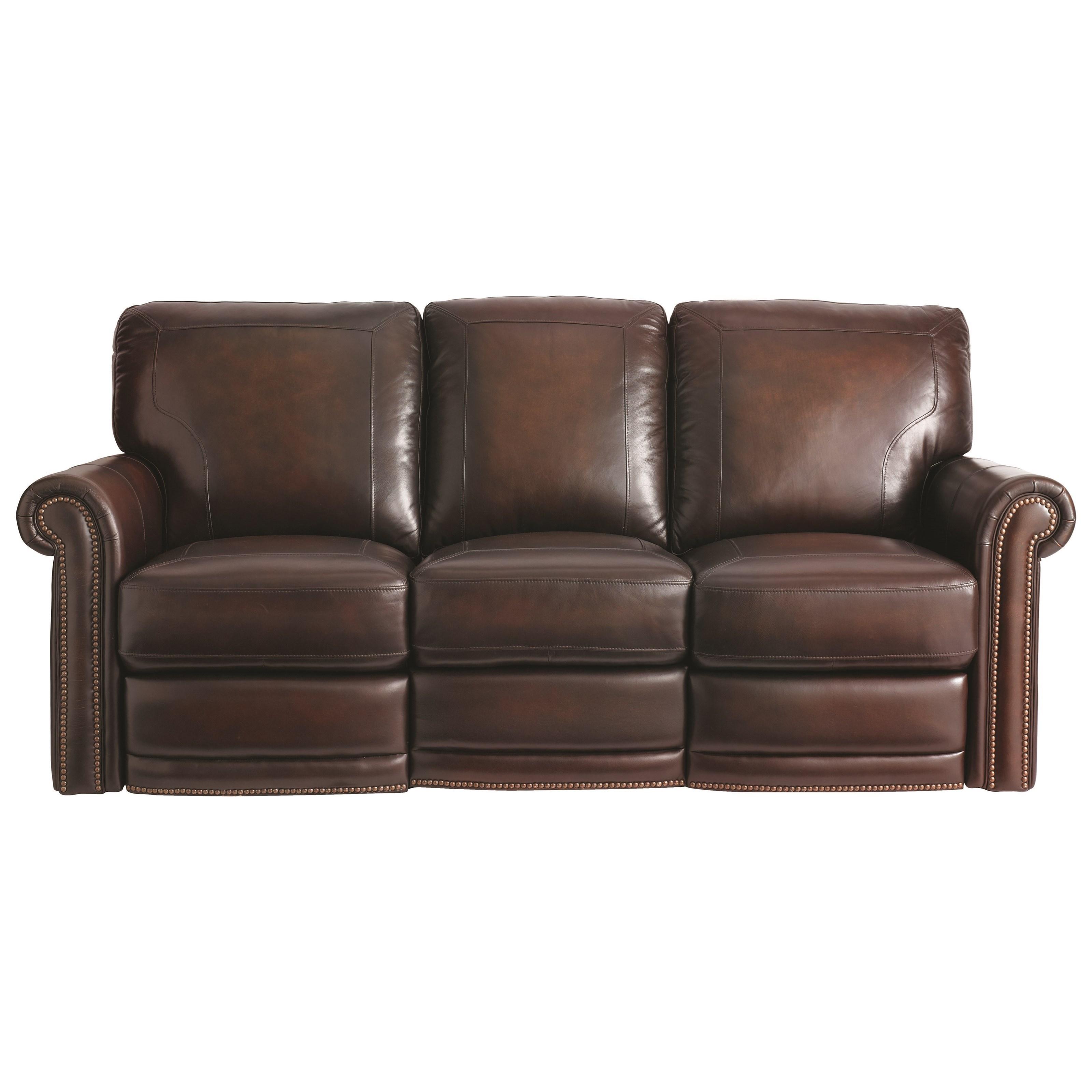 Bassett reclining sectional sofabassett custom furniture for Small sectional sofa bassett