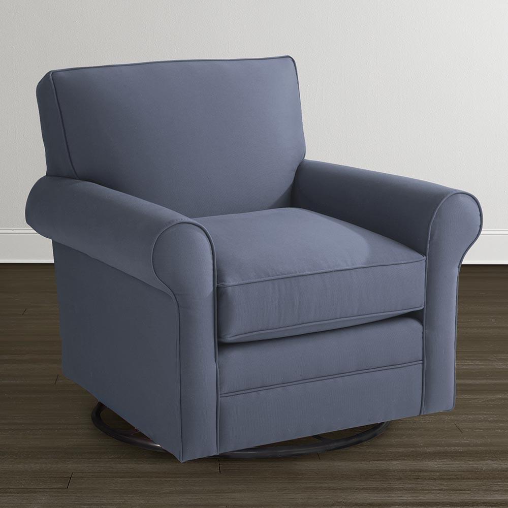 Bassett Harris 1019 09 Swivel Glider Becker Furniture World Upholstered Chairs